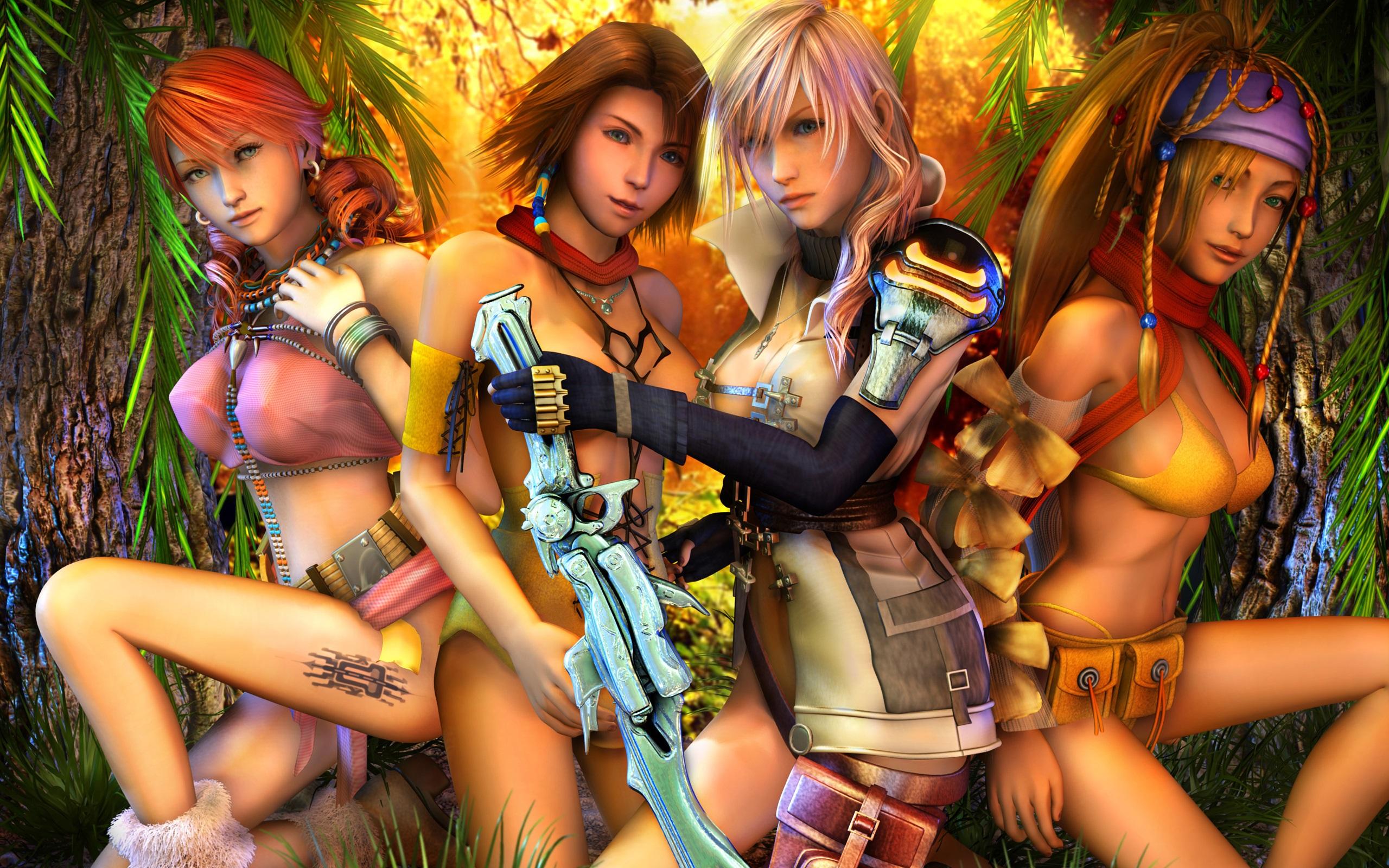 Fondos De Pantalla Final Fantasy Xiii Muchachas Hermosas