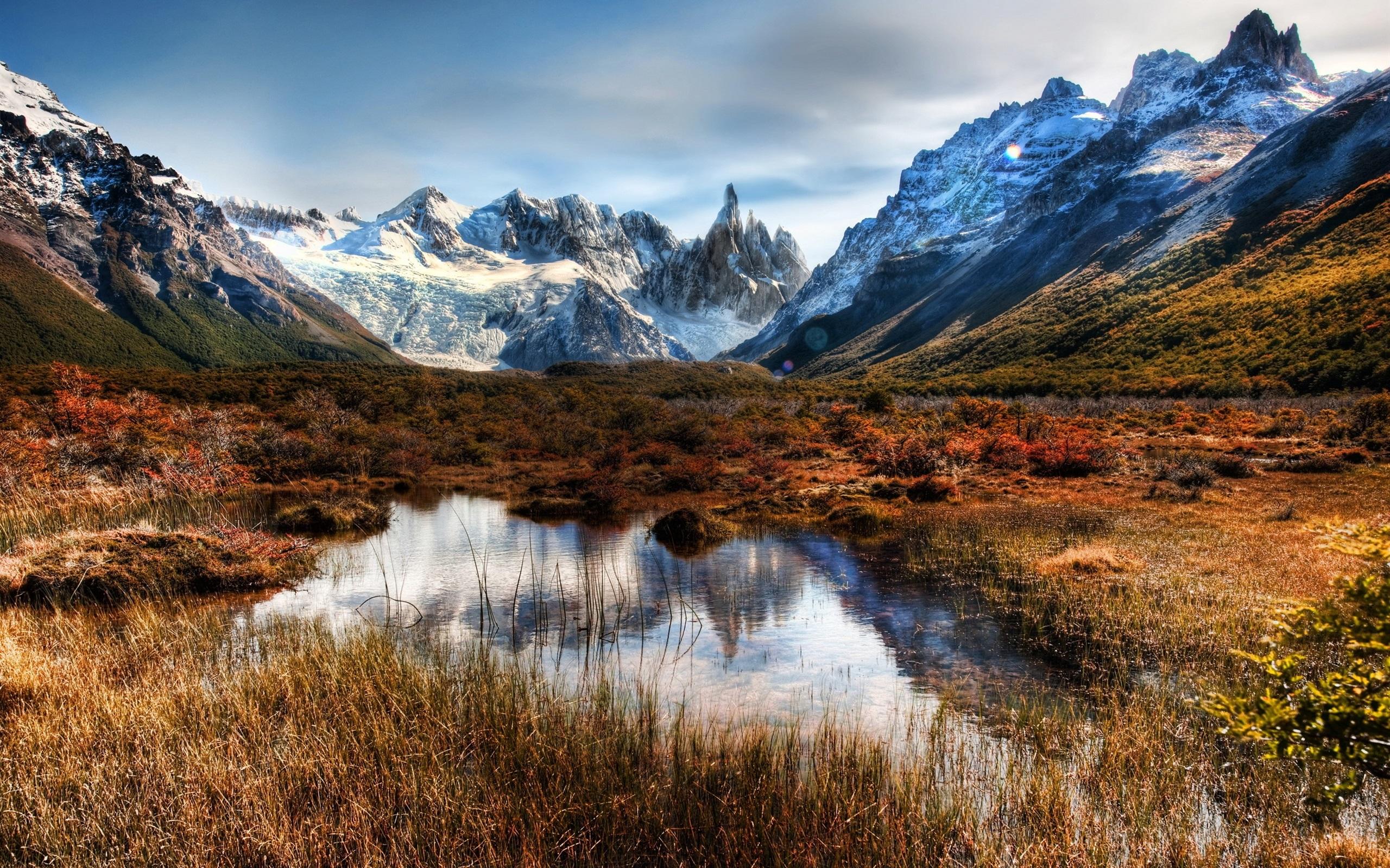 Fondo De Montañas Nevadas En Hd: Fondos De Pantalla Chile, Patagonia, Montañas, Rocas