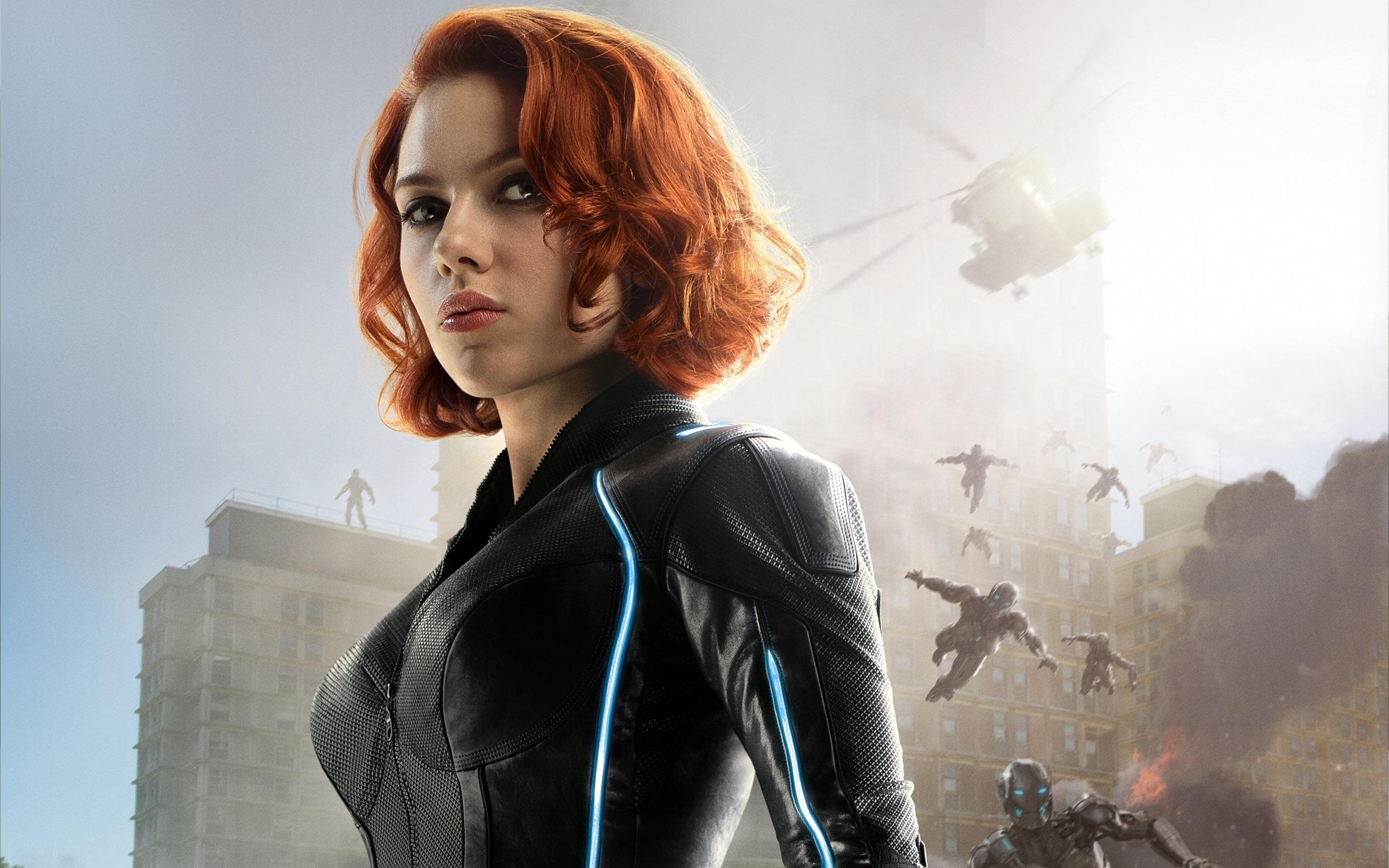 Wallpaper Scarlett Johansson Avengers Age Of Ultron 2560x1600 HD