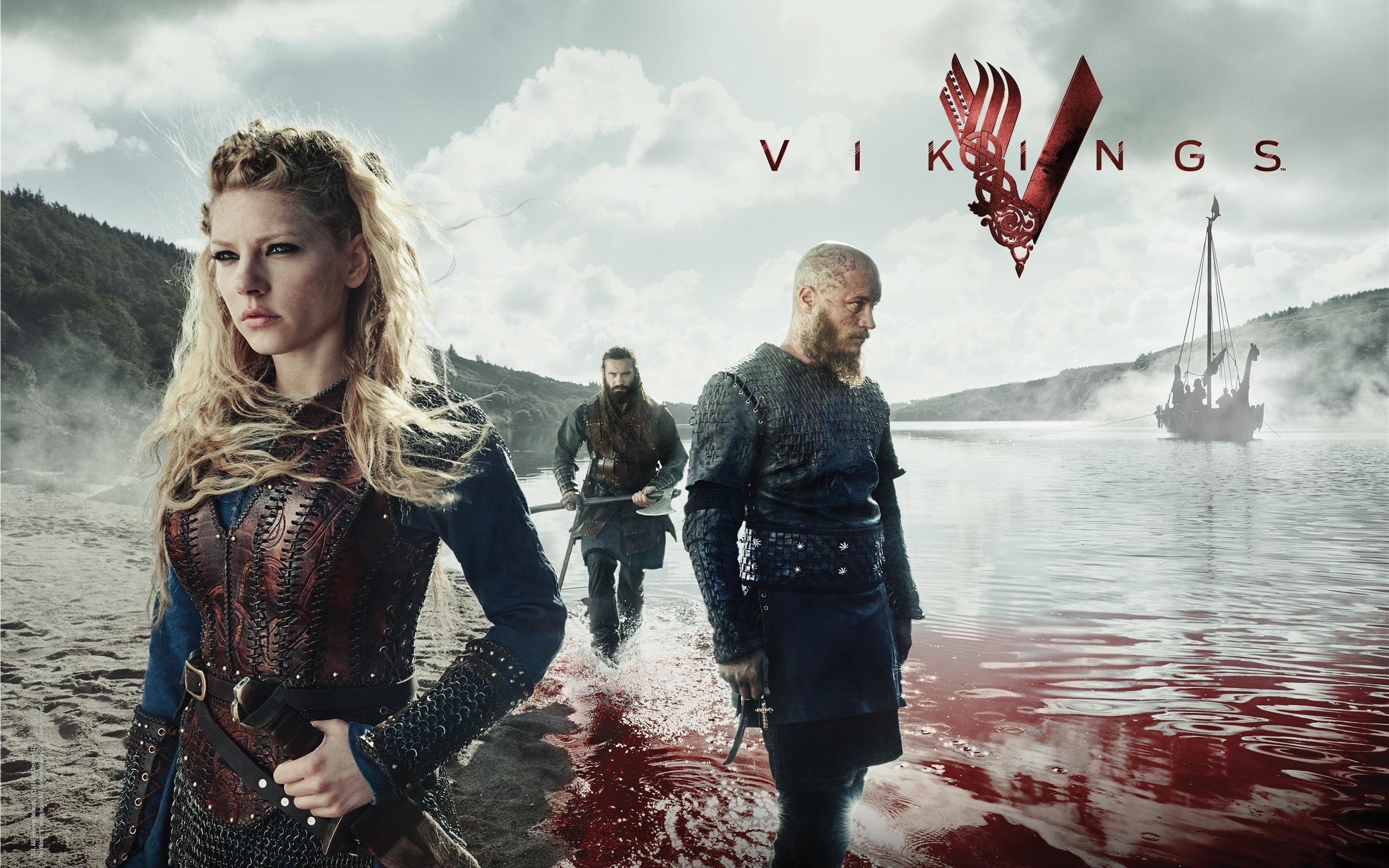 Wallpaper Vikings Tv Series Fjord Blood 2560x1600 Hd