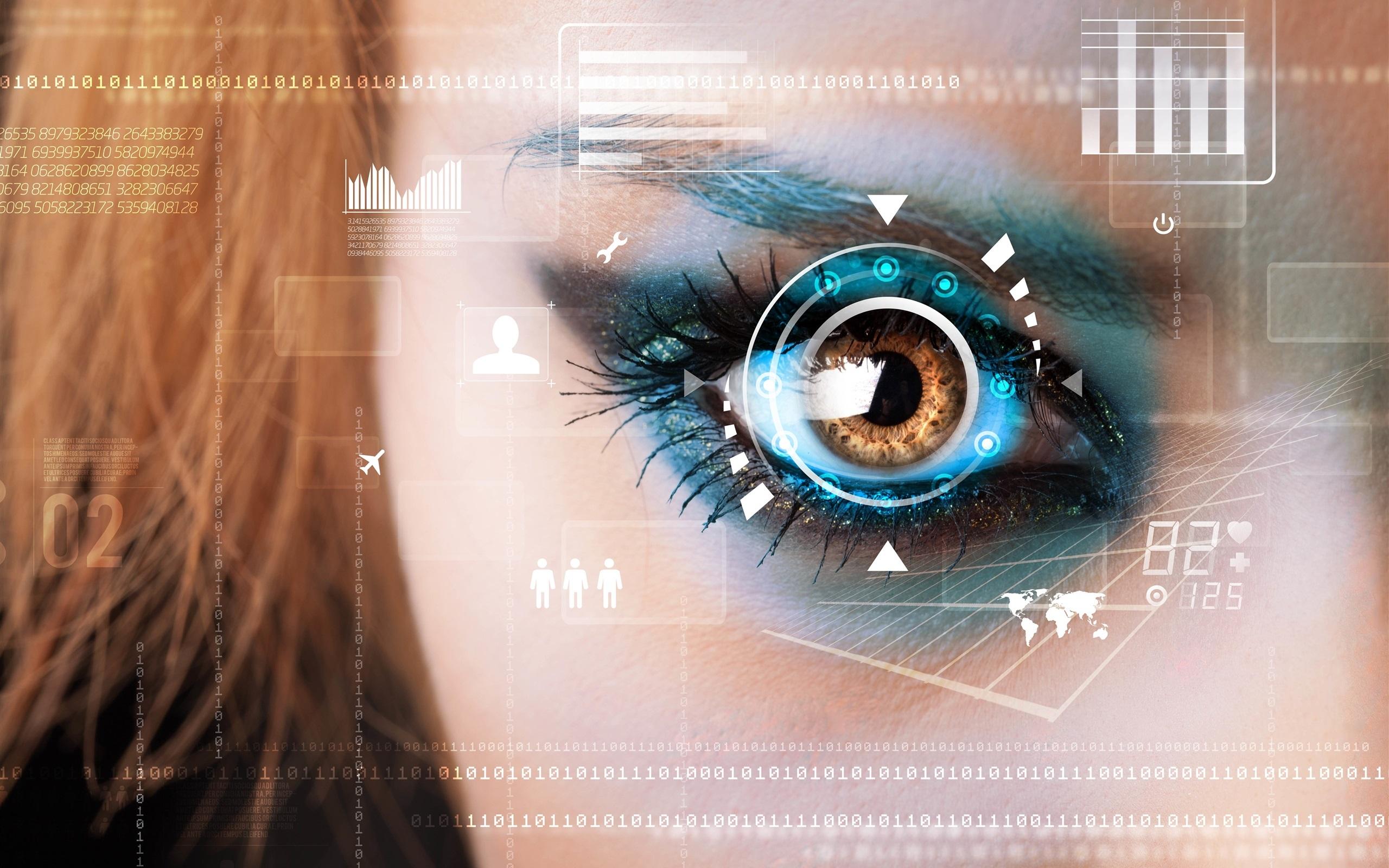 Fondos De Pantalla La Tecnología Creativa, Ojo, La