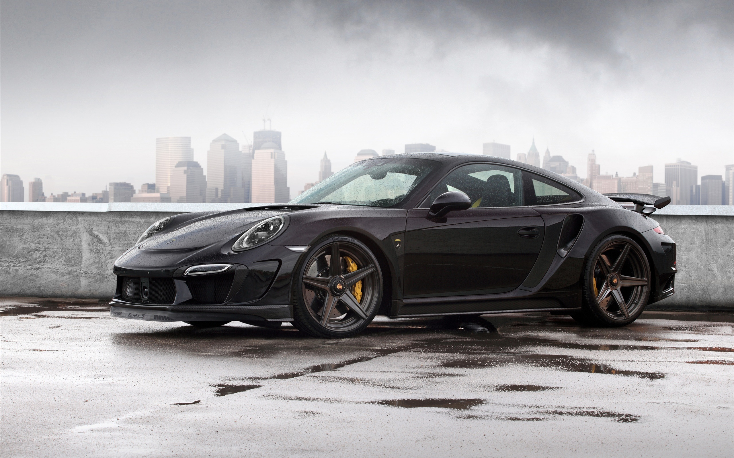 porsche 911 turbo black wallpaper - 2015 Porsche 911 Turbo Wallpaper