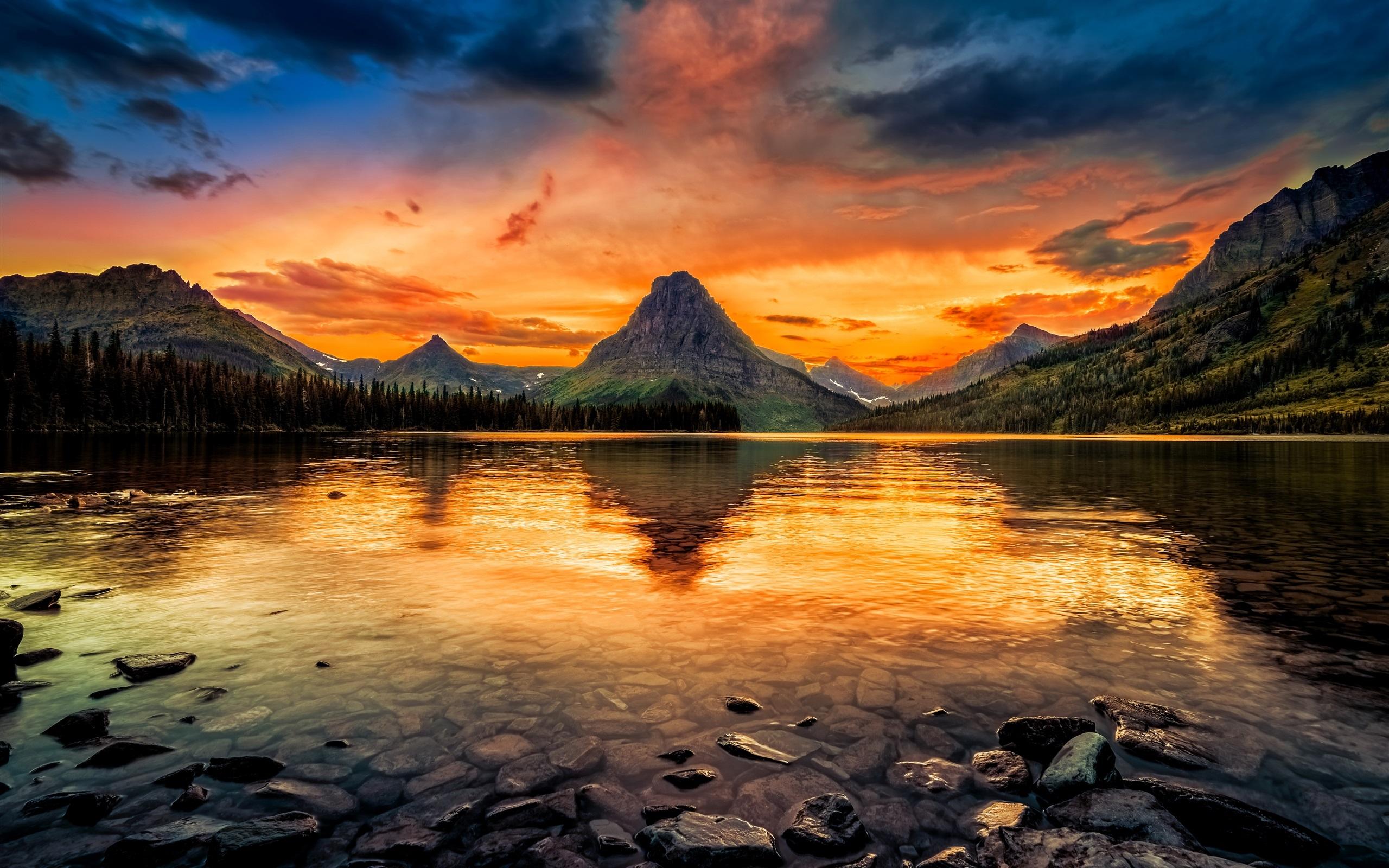 ... EUA, montanhas, &#...