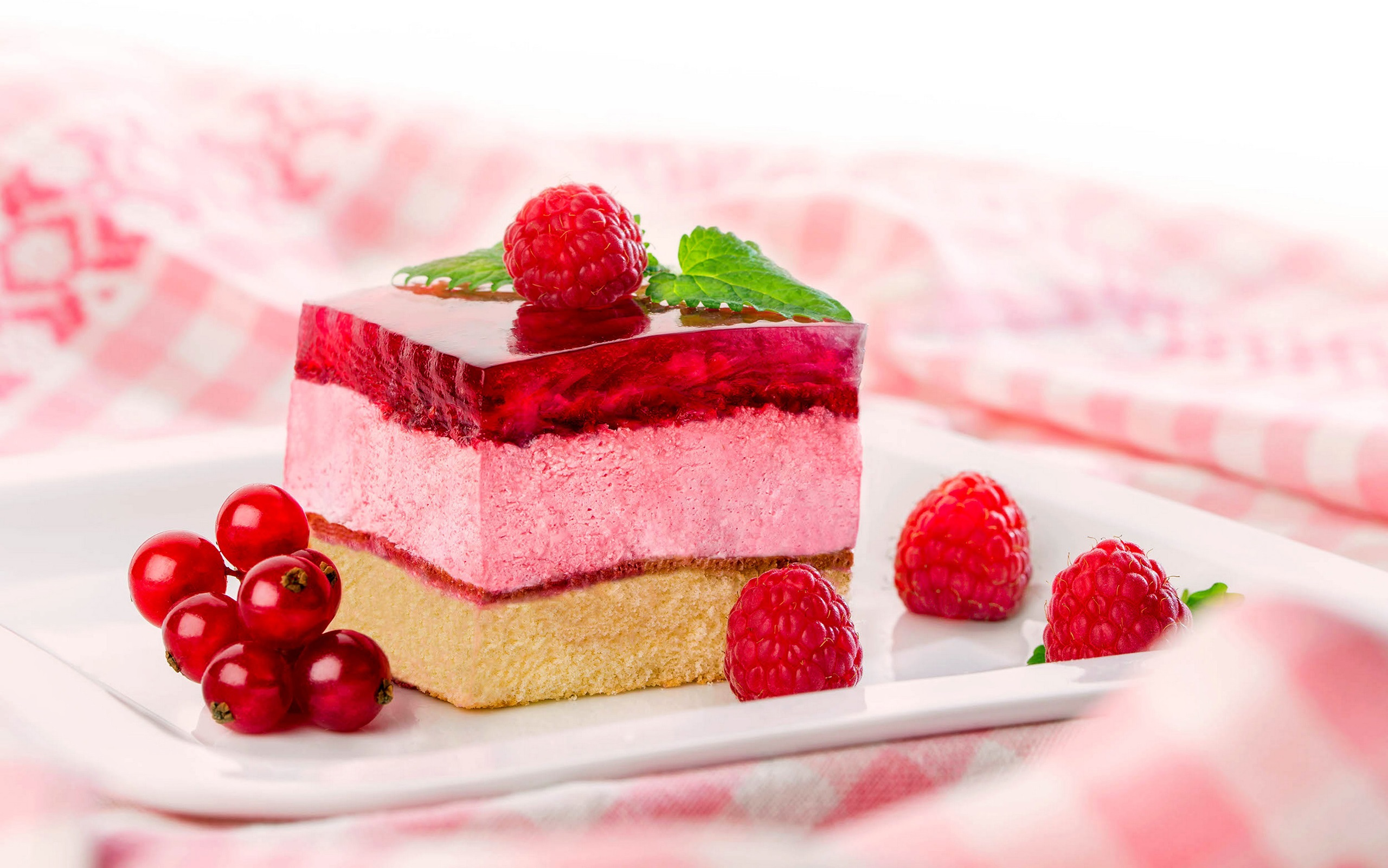 Wallpaper Dessert Cake Berries 2560x1600 Hd Picture Image