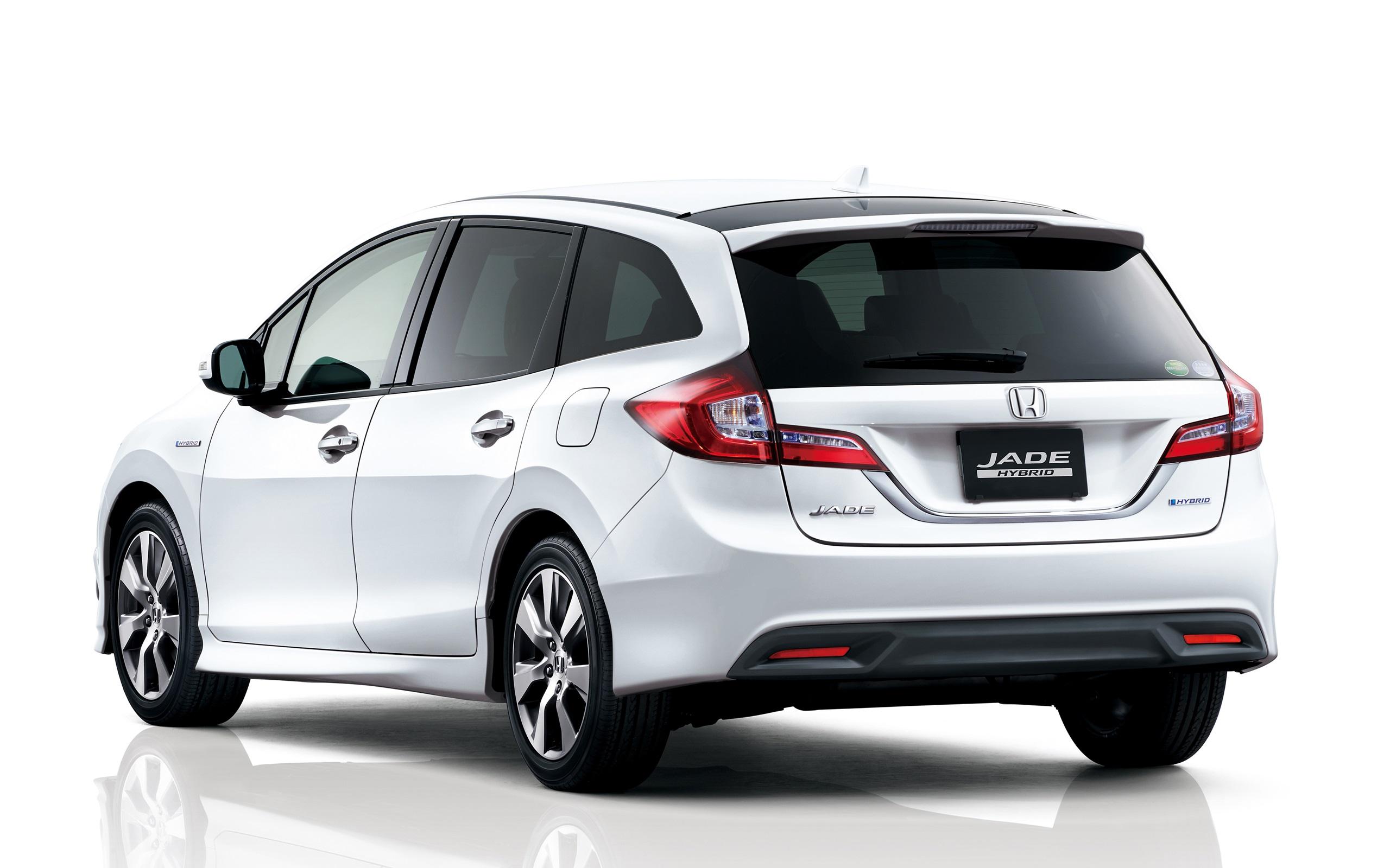 Papéis De Parede Honda Jade Retrovisor Do Carro Híbrido