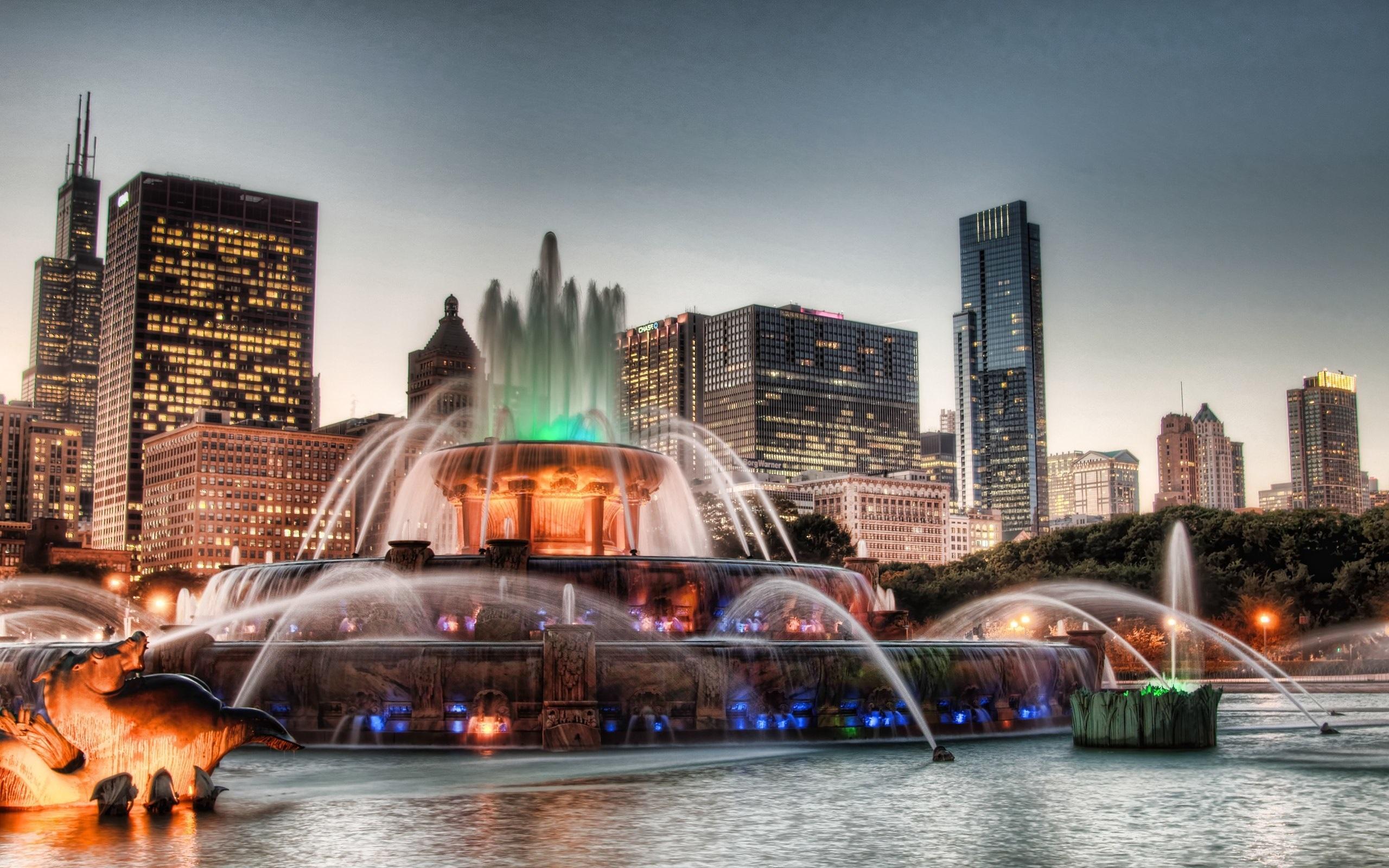Обои здания, фонтан. Города foto 17