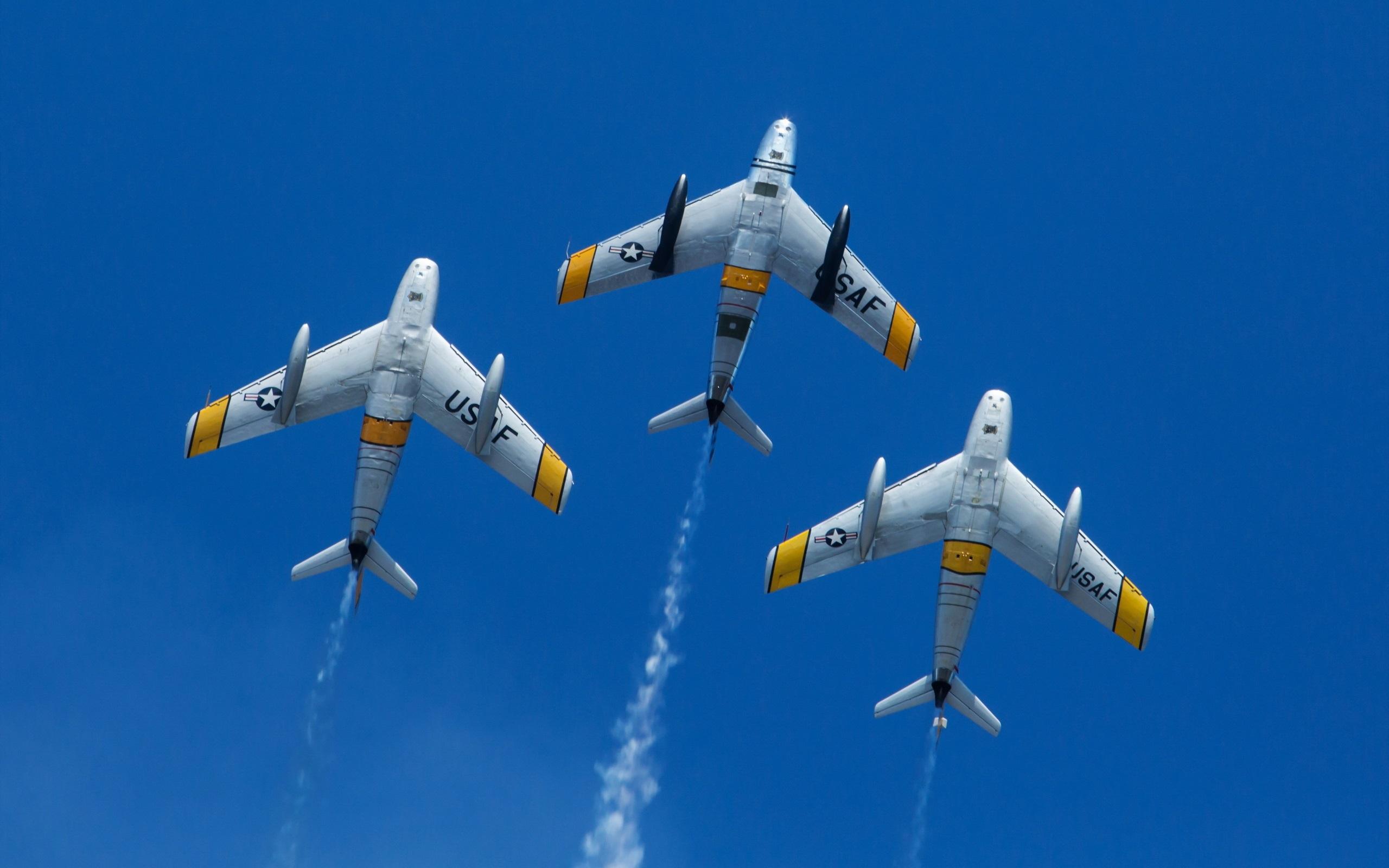 Обои F-86 Sabre, Самолёт. Авиация foto 13