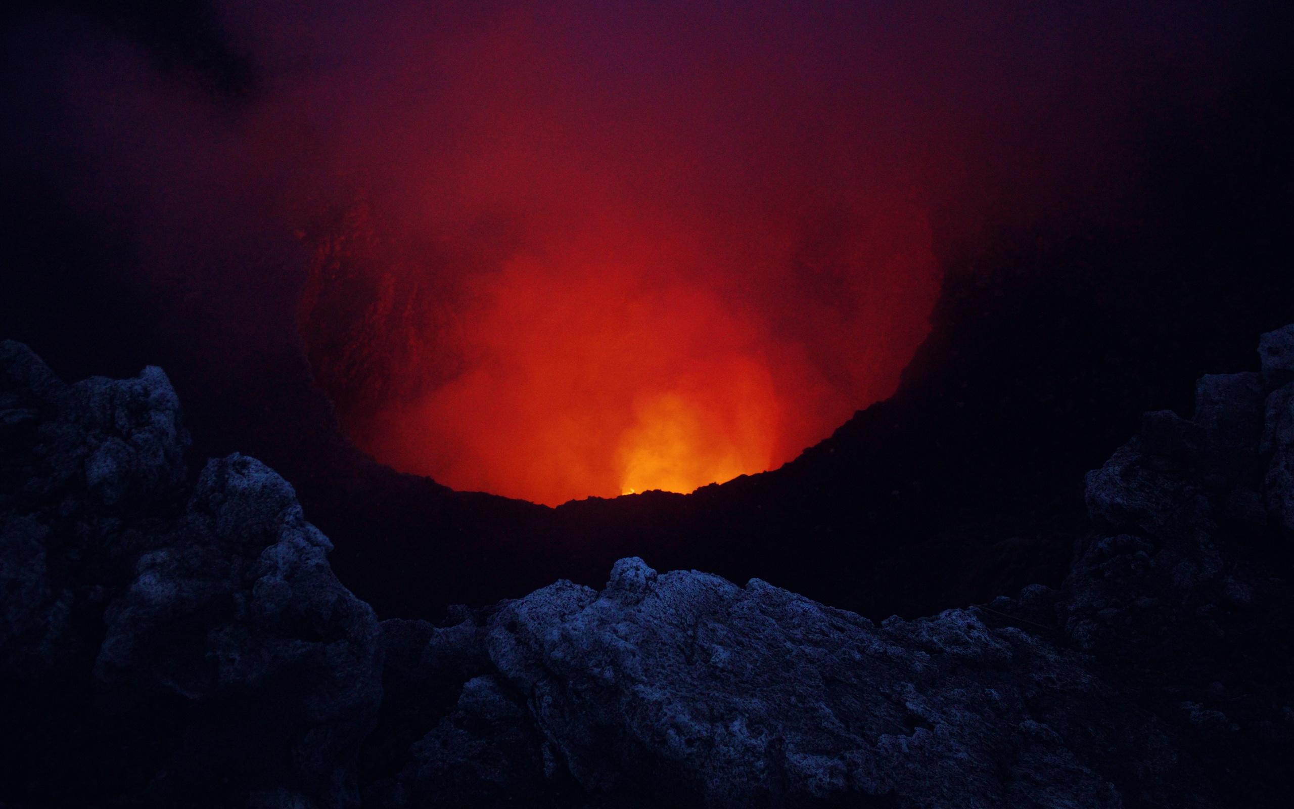 Fondos De Pantalla De Lava: Nicaragua, Volcán Masaya, Lava Fondos De Pantalla