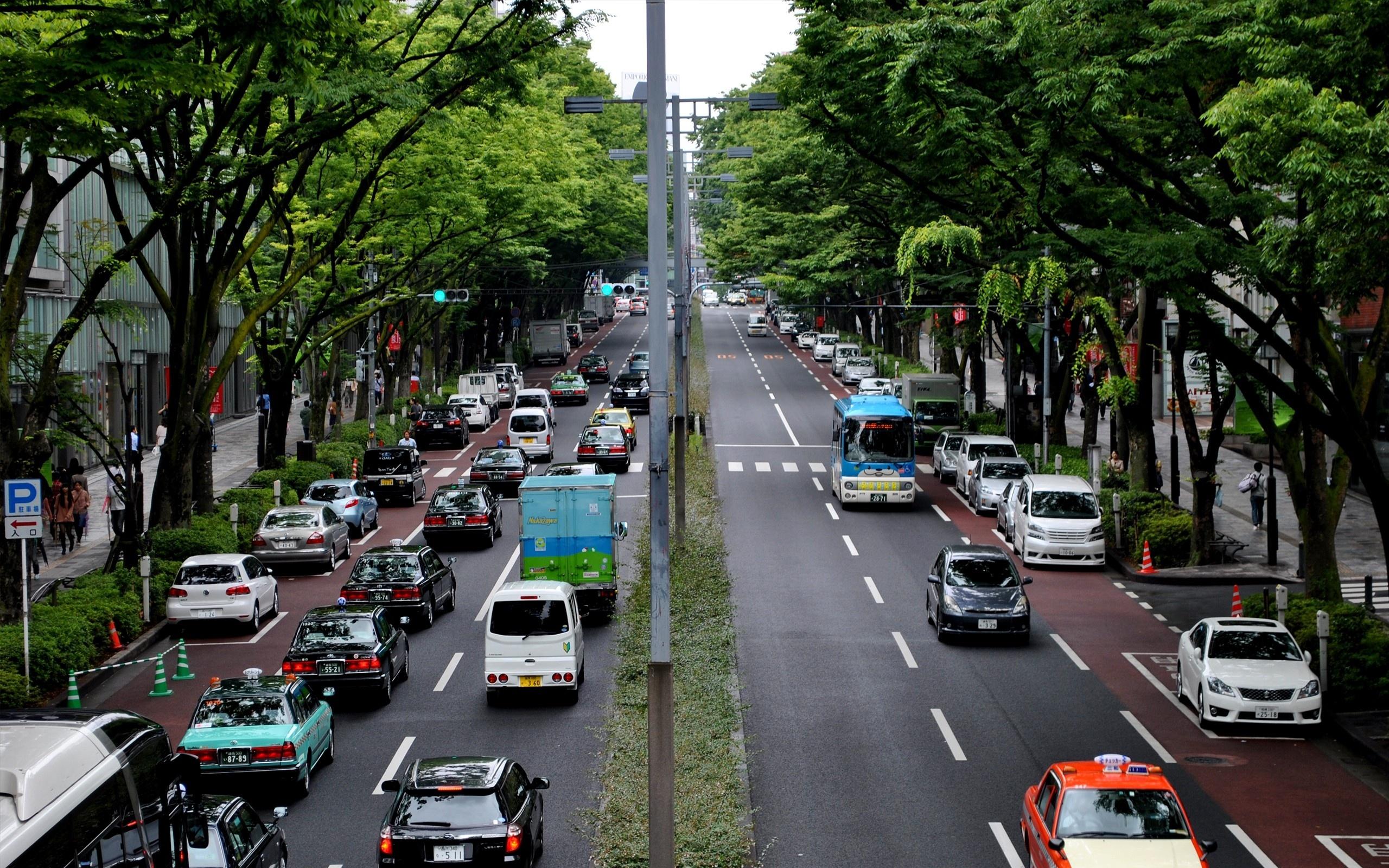Фото машин на улице