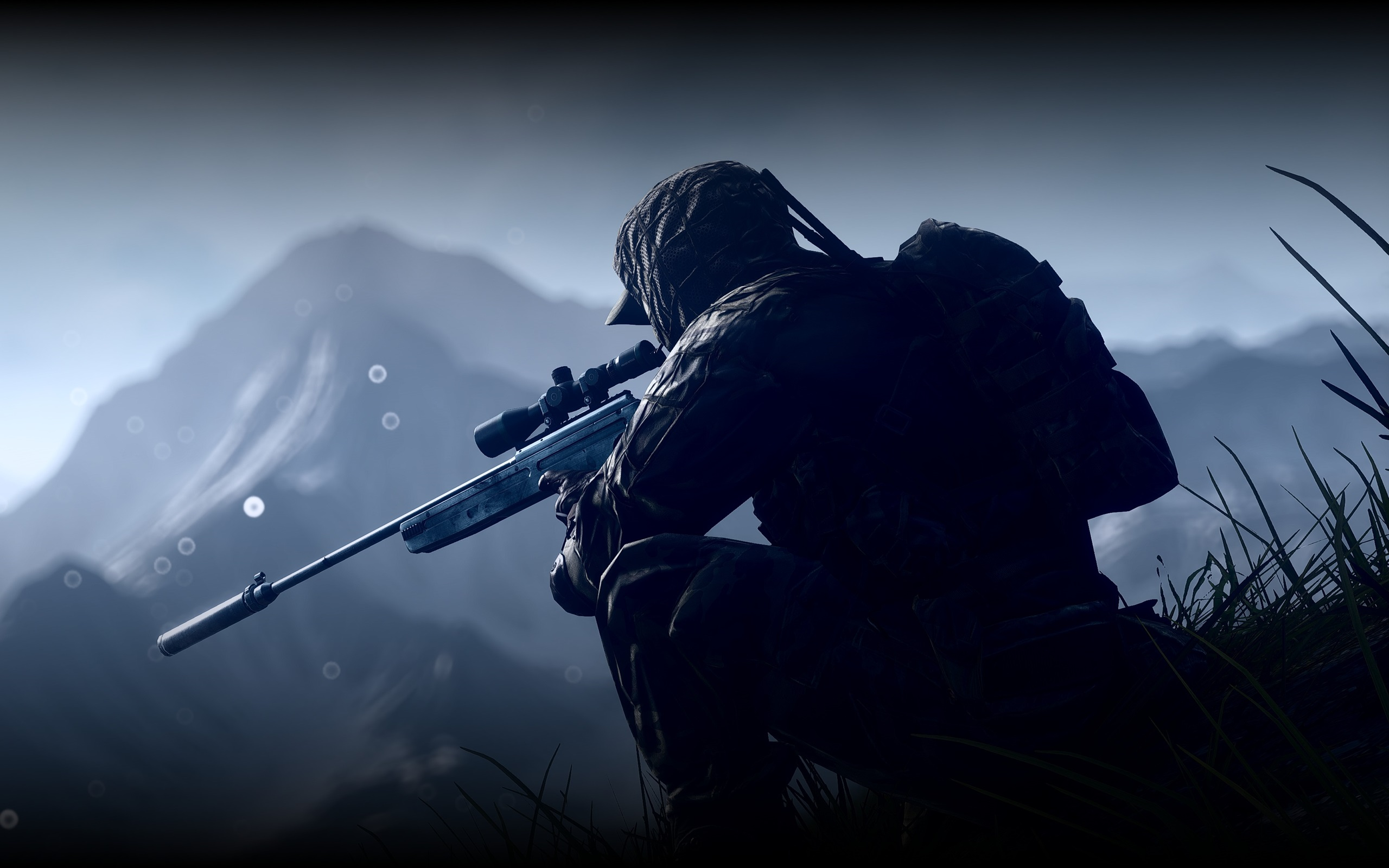 Wallpaper Battlefield 4 Soldier Sniper 3840x2160 UHD 4K Picture Image