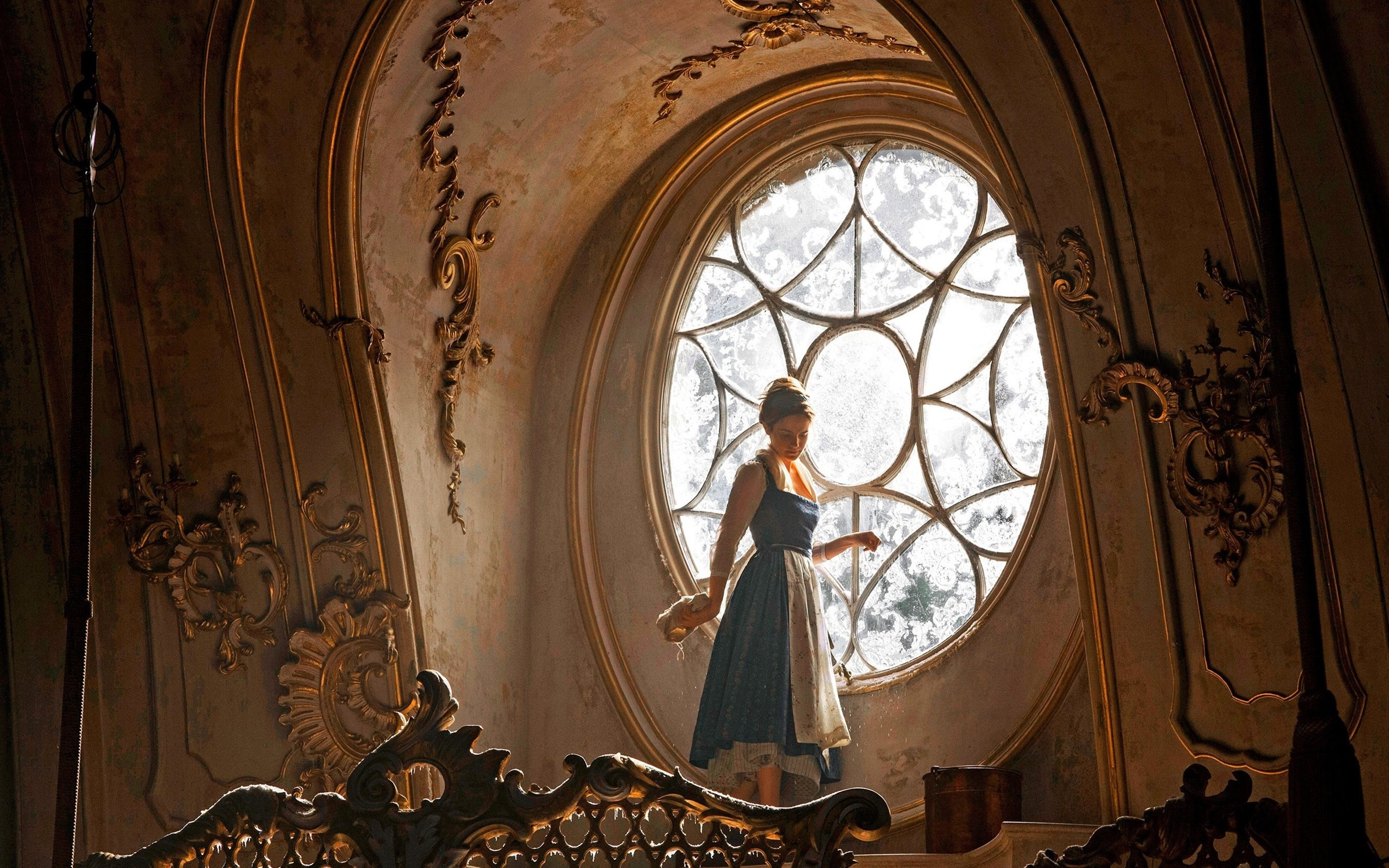 Fonds Décran Emma Watson La Belle Et La Bête 2560x1600 Hd