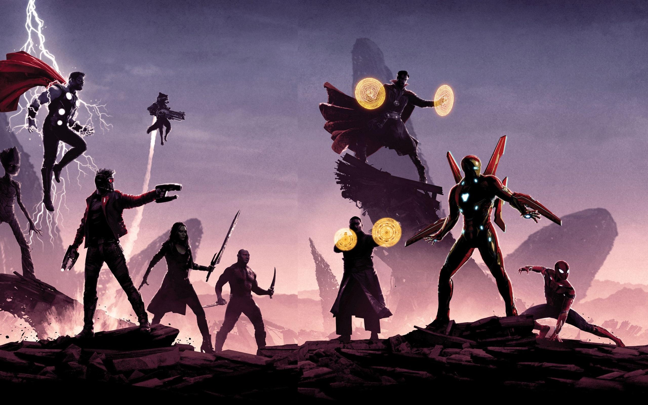Wallpaper 2018 Movie Avengers Infinity War 2560x1600 Hd