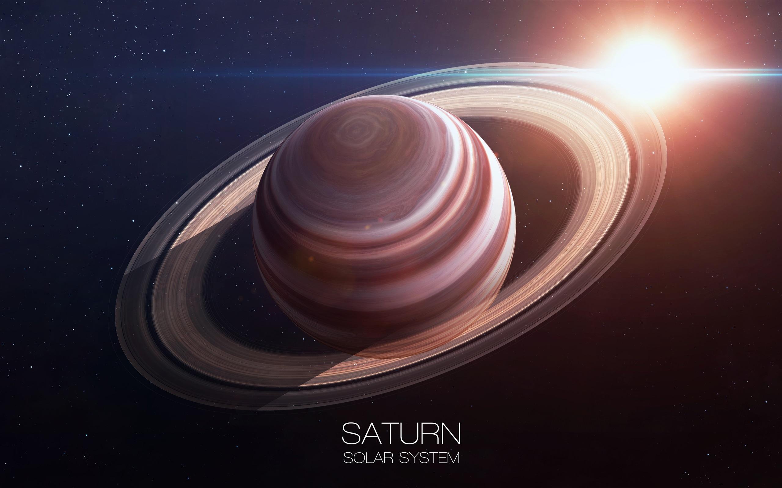 壁紙 土星 リング 惑星 太陽 太陽系 3840x2160 Uhd 4k 無料のデスクトップの背景 画像