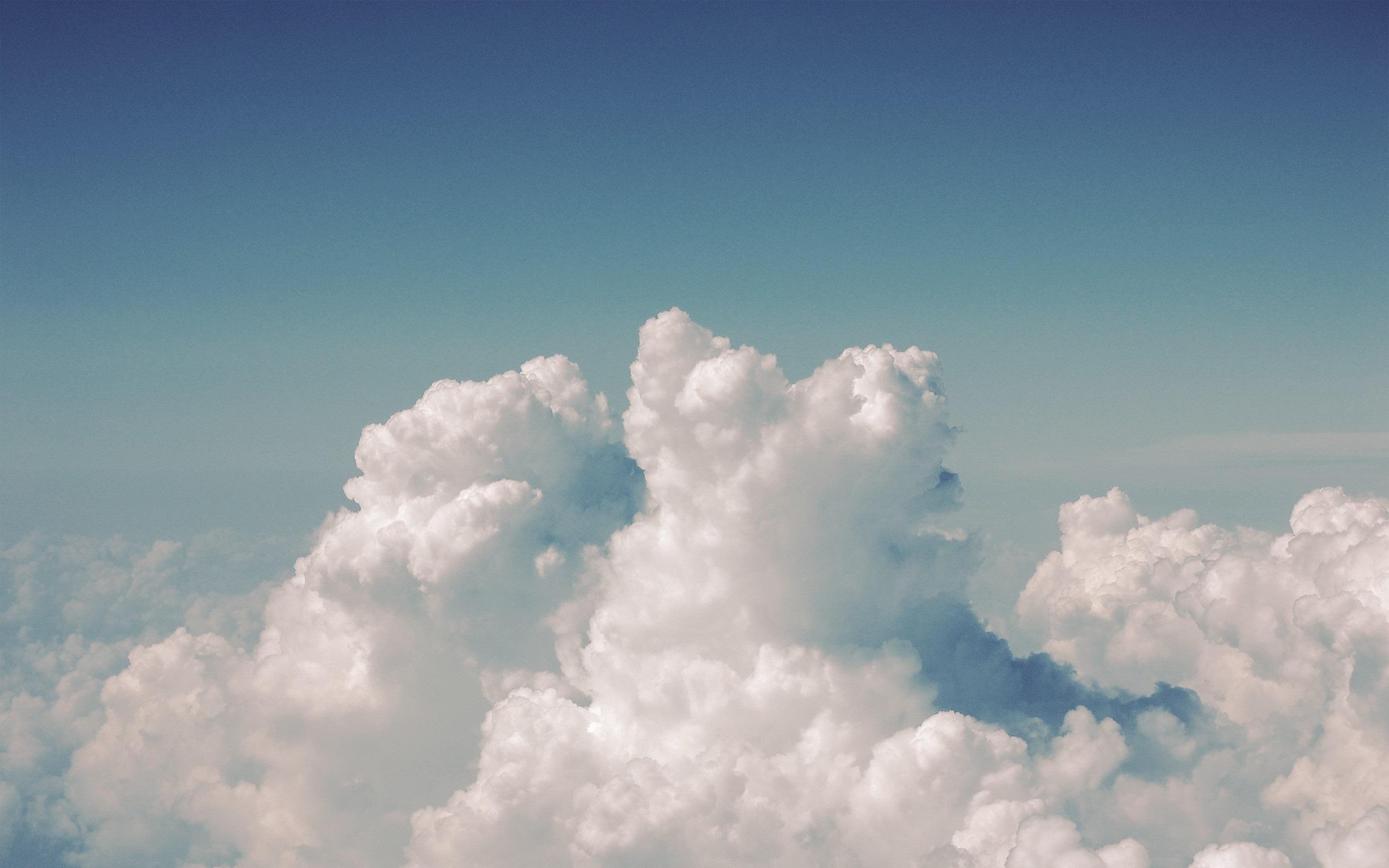 Небо облака картинки обои