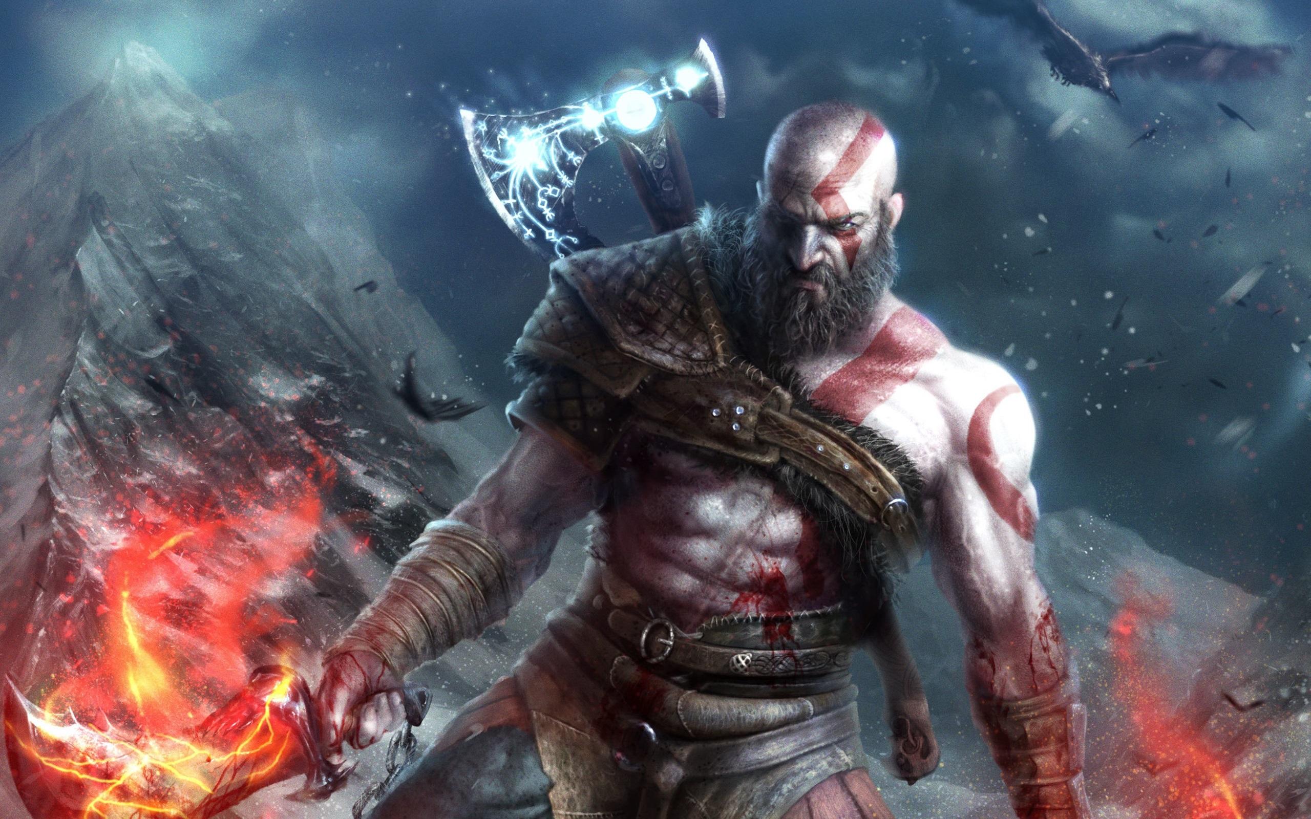 Wallpaper god of war 4 video games 2560x1600 hd picture - God of war wallpaper for ps4 ...