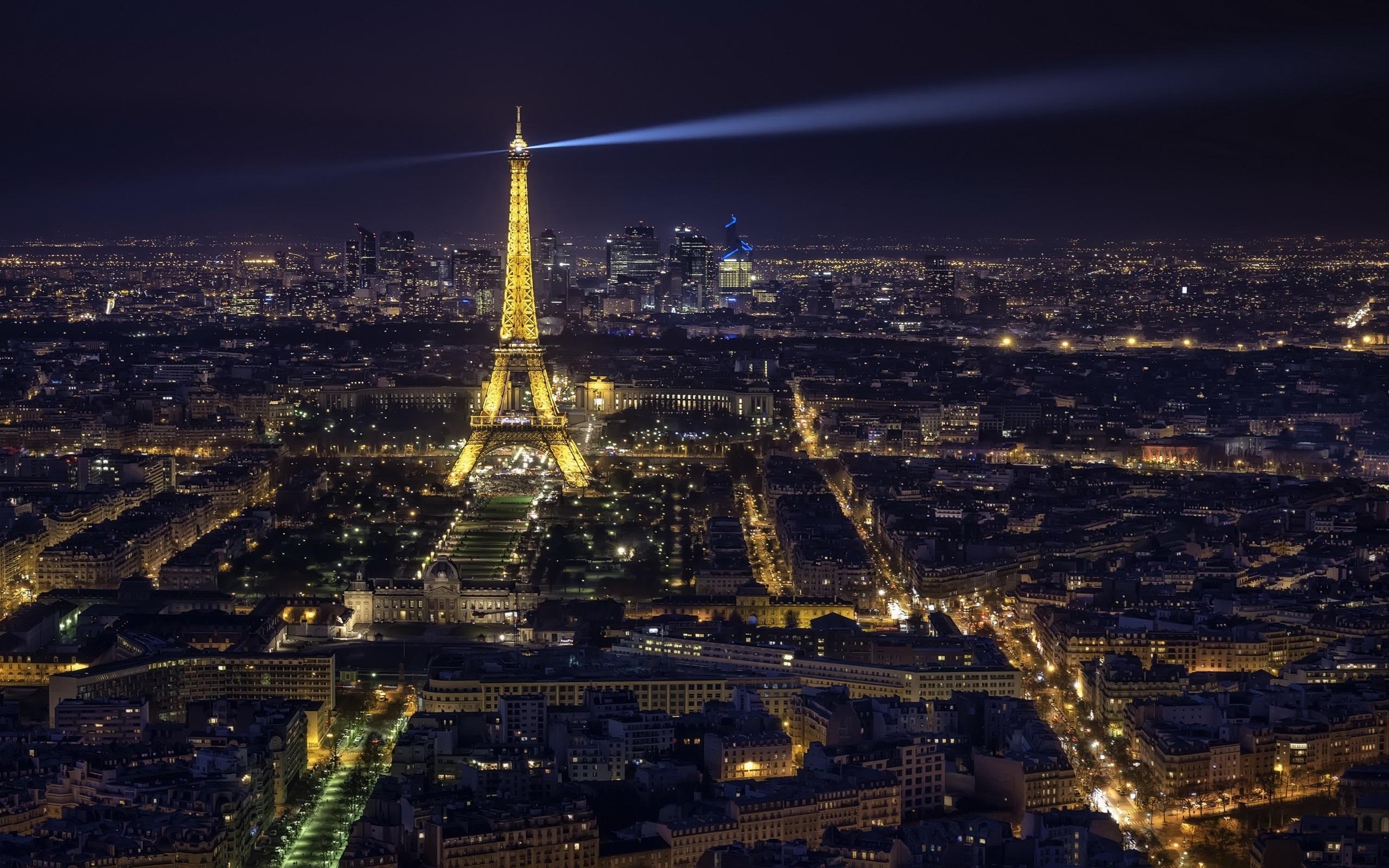 Fondos De Pantalla Torre Eiffel, Noche De La Ciudad