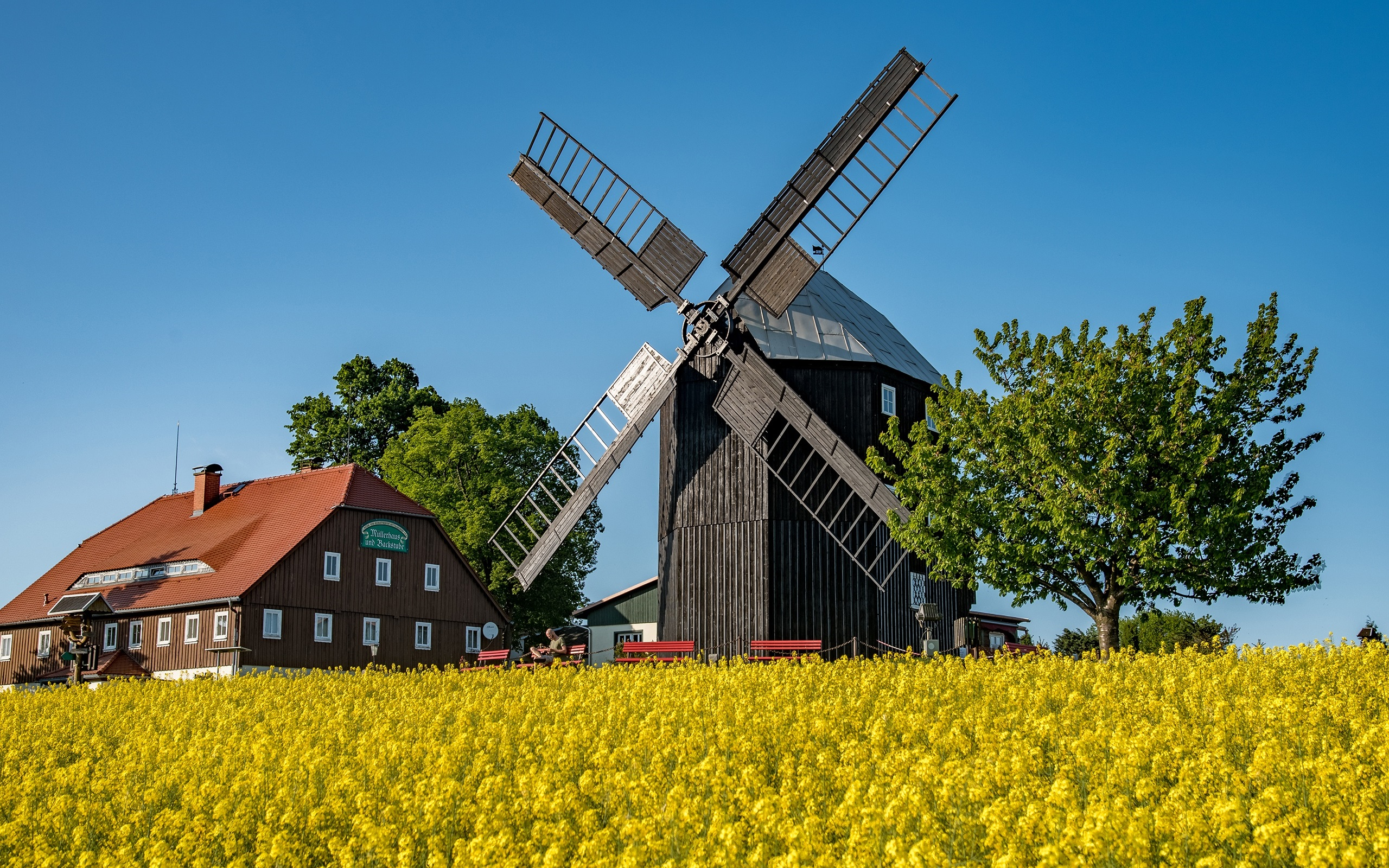 GERMANY Mill Landscape HD POSTER