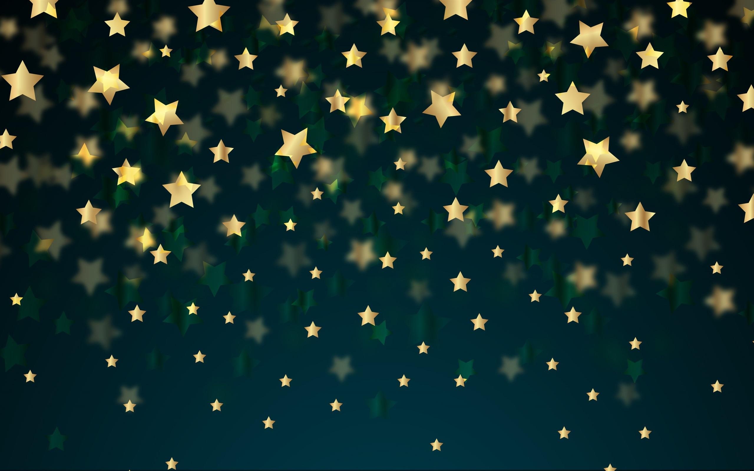 Fondos De Pantalla De Quikis: Fondos De Pantalla Fondo De Estrellas Doradas 2560x1600 HD