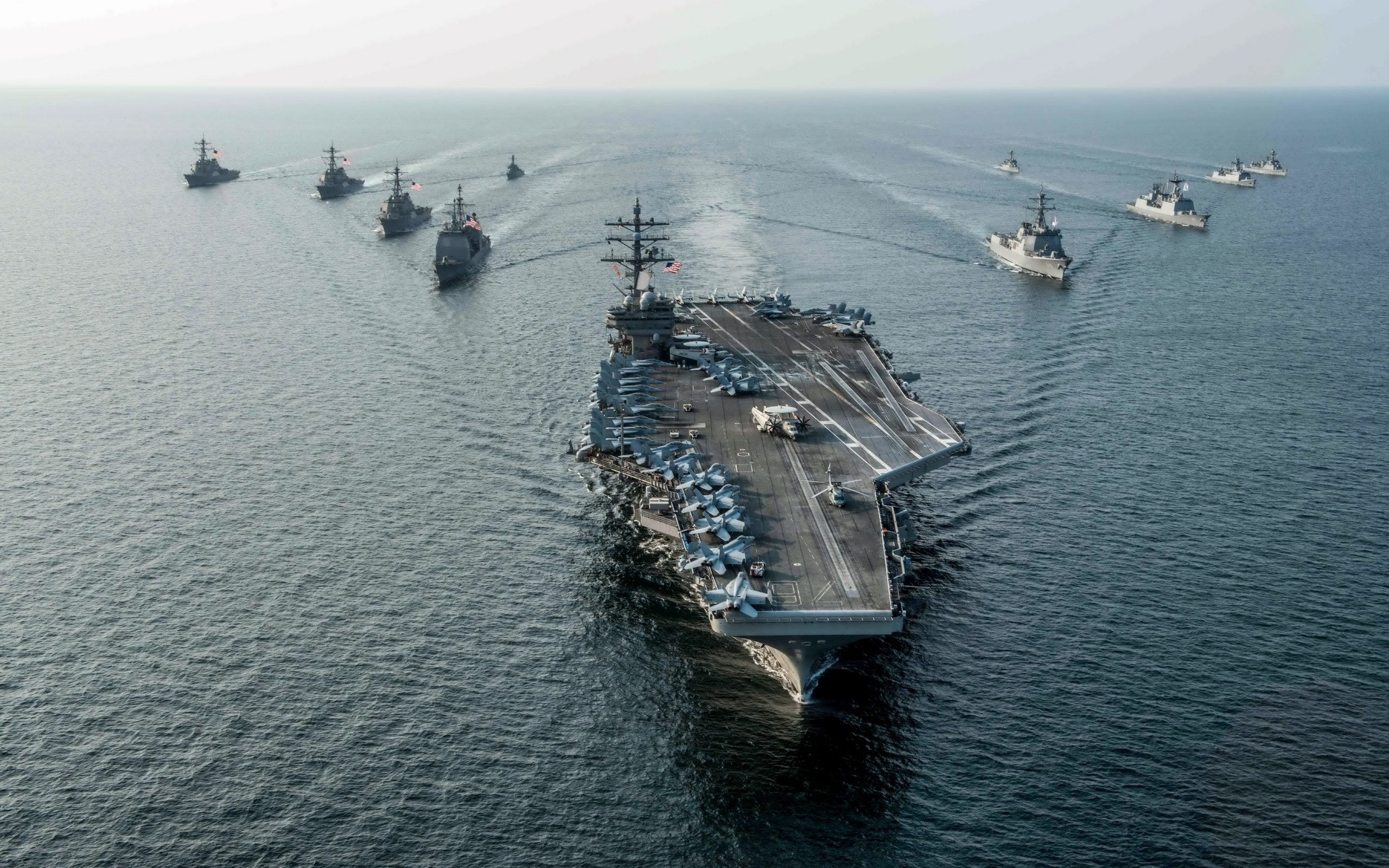 Fondos De Pantalla Uss Ronald Reagan Transportista Armada