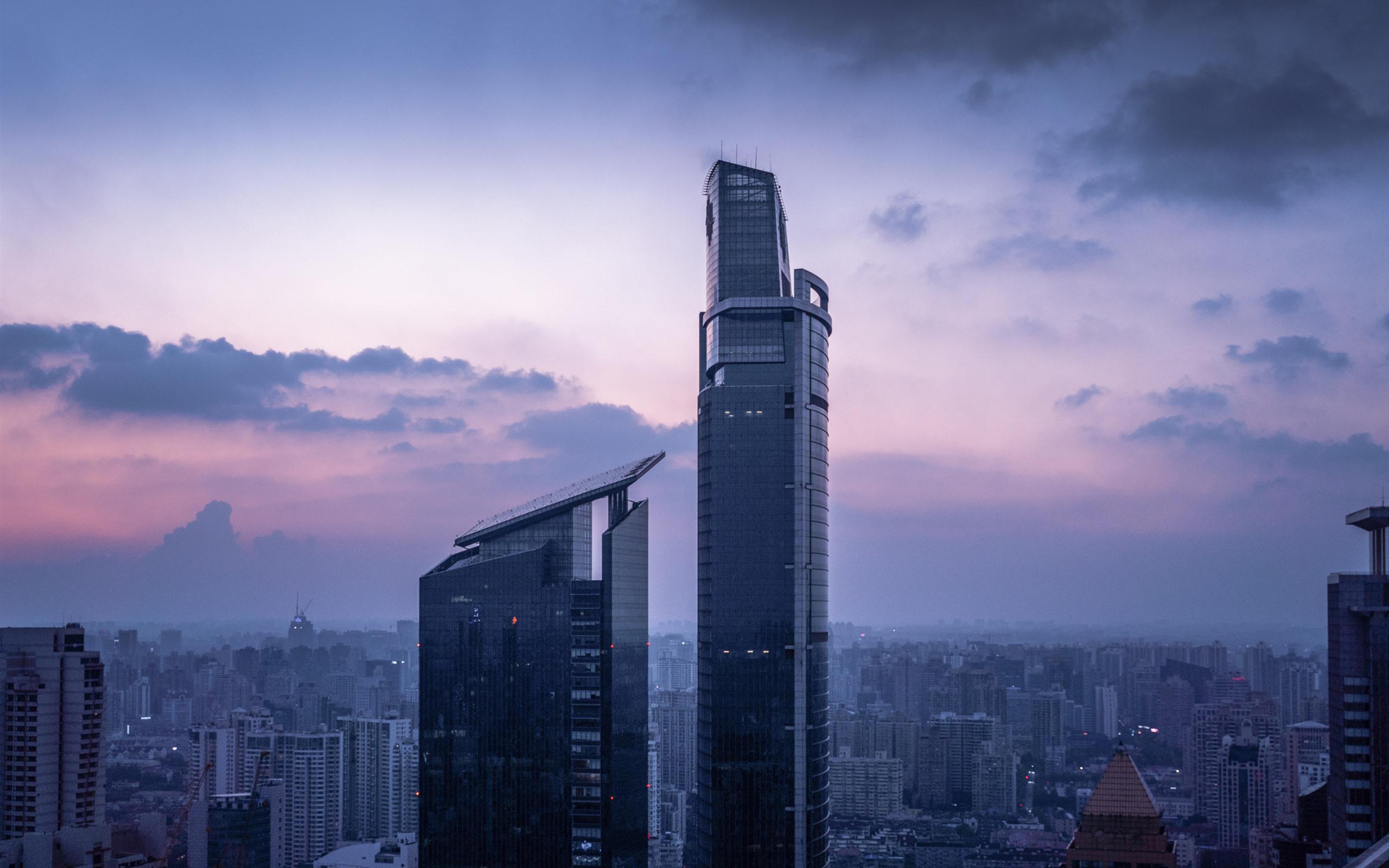 Обои обои, Облака, здания, городской пейзаж. Города foto 14