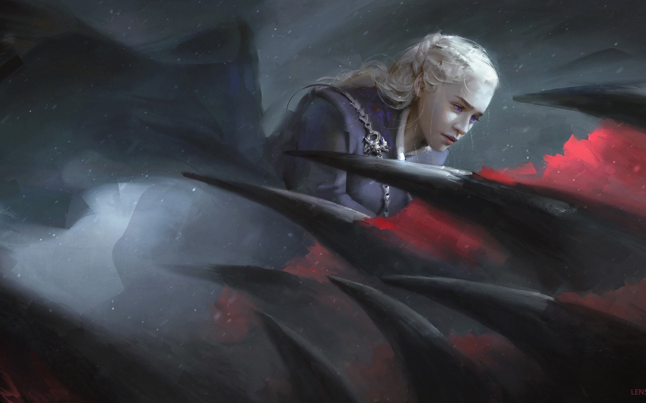 Fondos De Pantalla Emilia Clarke Juego De Tronos Dragón