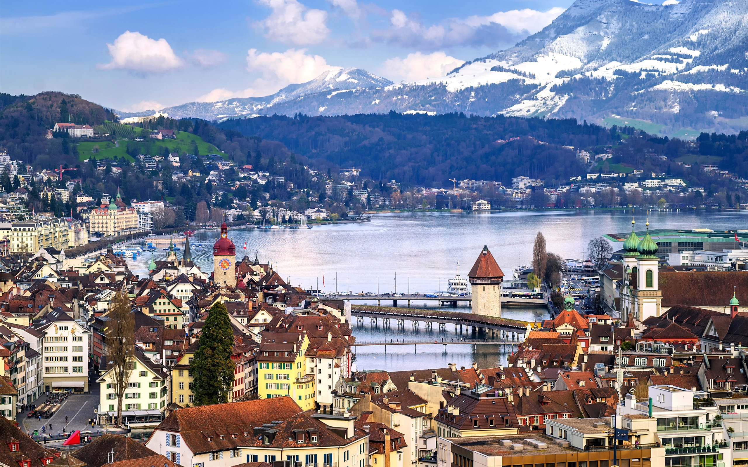 Обои люцерн, швейцария. Города foto 6