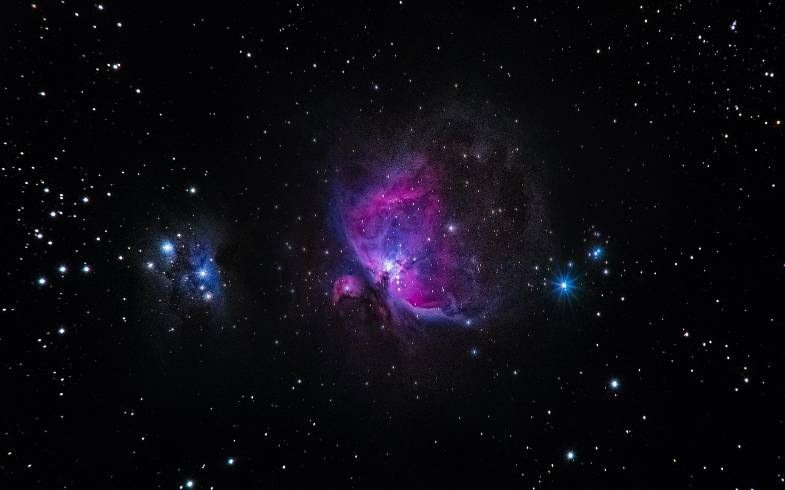 壁紙 銀河 星 宇宙 紫 5120x2880 Uhd 5k 無料のデスクトップの背景