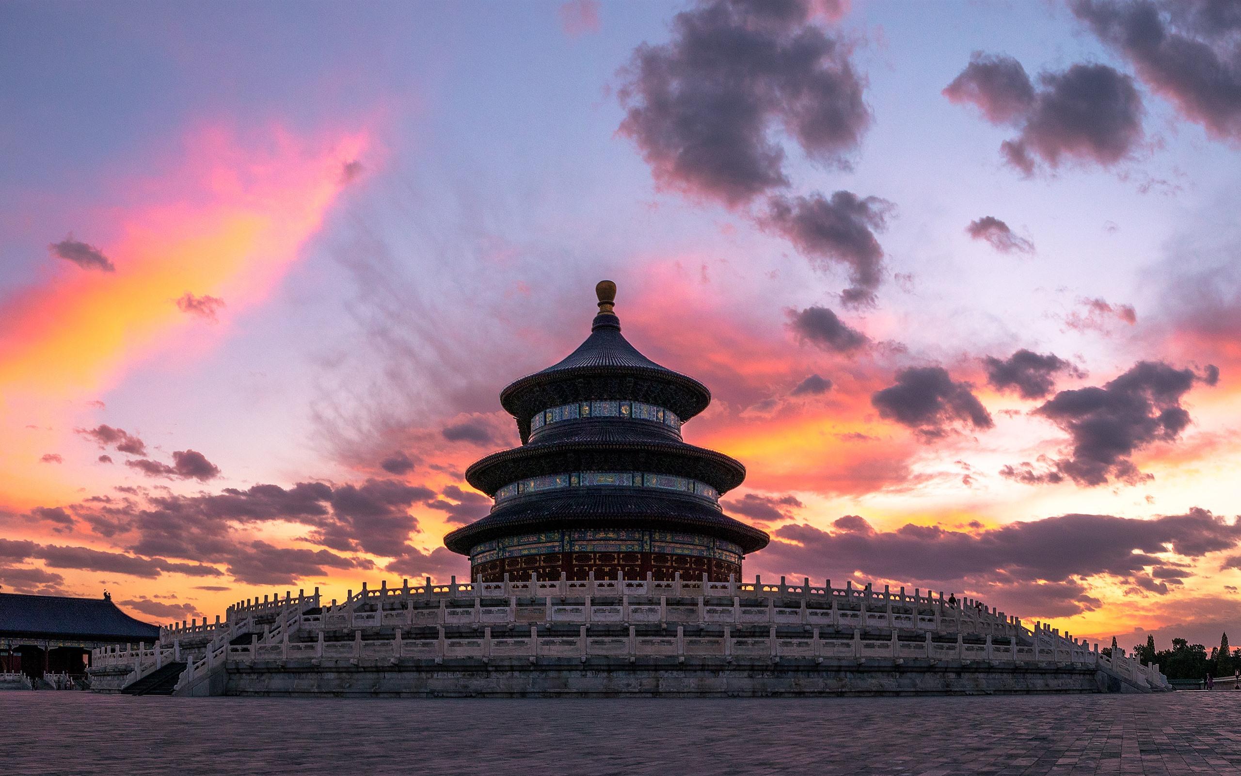 Wallpaper Temple Of Heaven Beijing China 2560x1600 Hd