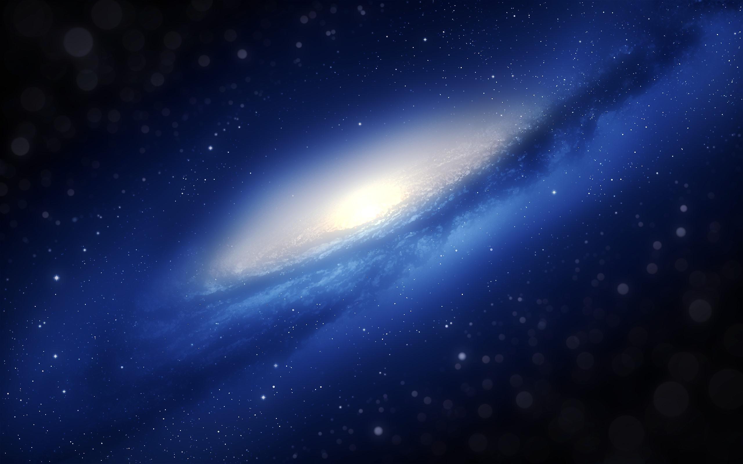 Fonds Décran Galaxie Espace Bleu étoiles 2560x1600 Hd Image
