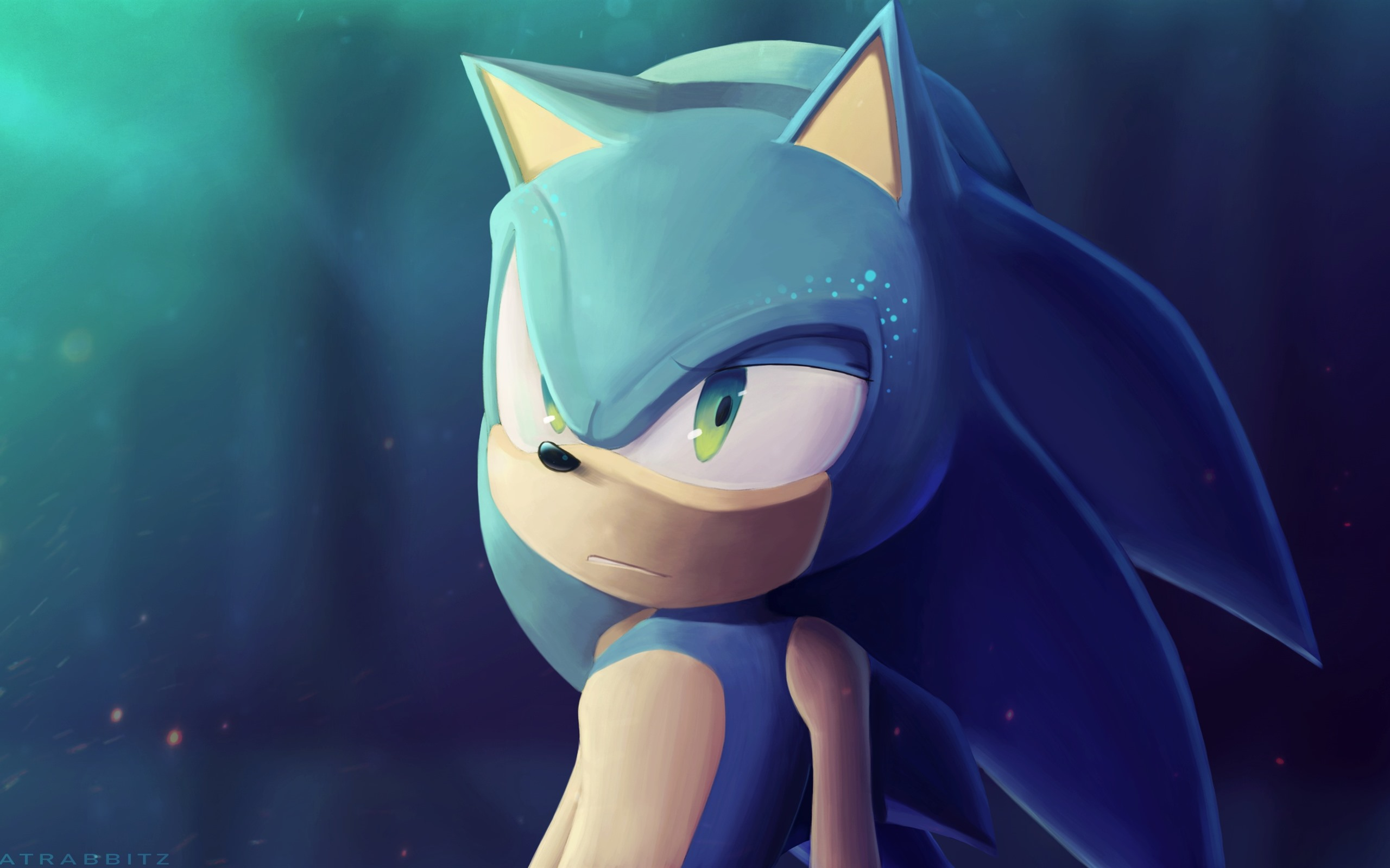 Wallpaper Sonic The Hedgehog Art Picture 2560x1600 Hd Picture Image