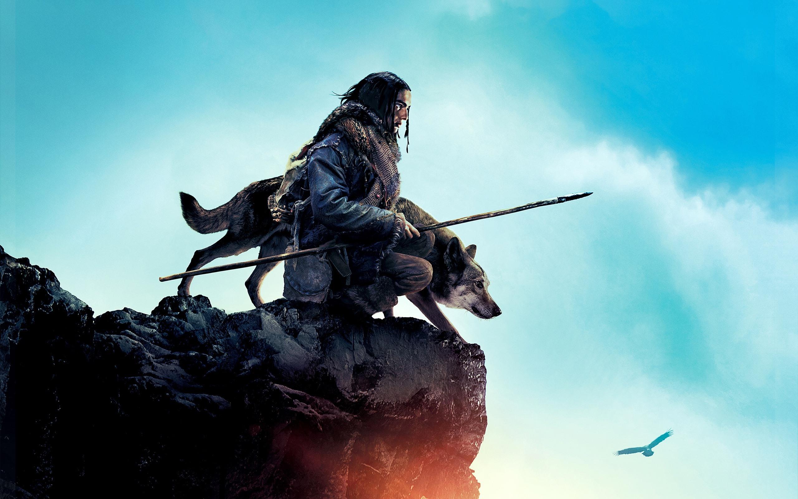 壁纸阿尔法 狼伴归途 男人和狼2560x1600 Hd 高清壁纸 图片 照片