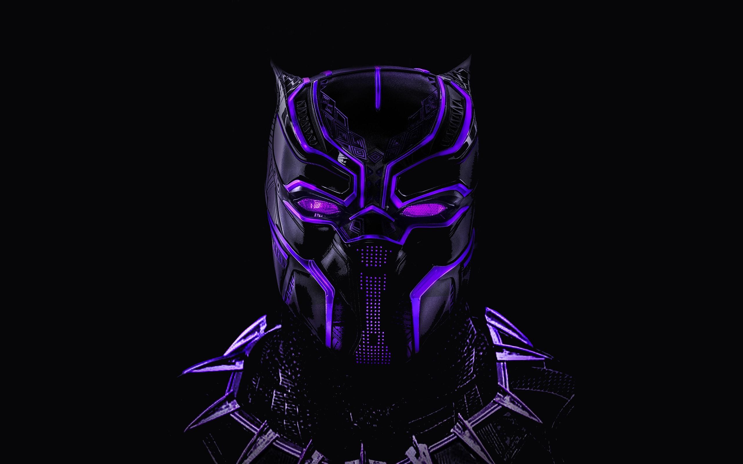 Fondos De Pantalla Pantera Negra Máscara Héroe Marvel