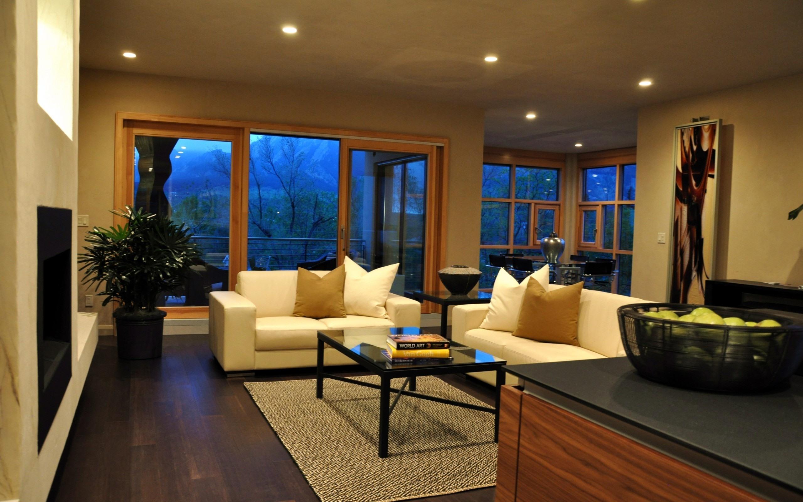 ArtStation - living room, interior, night scene , Joe Matteis
