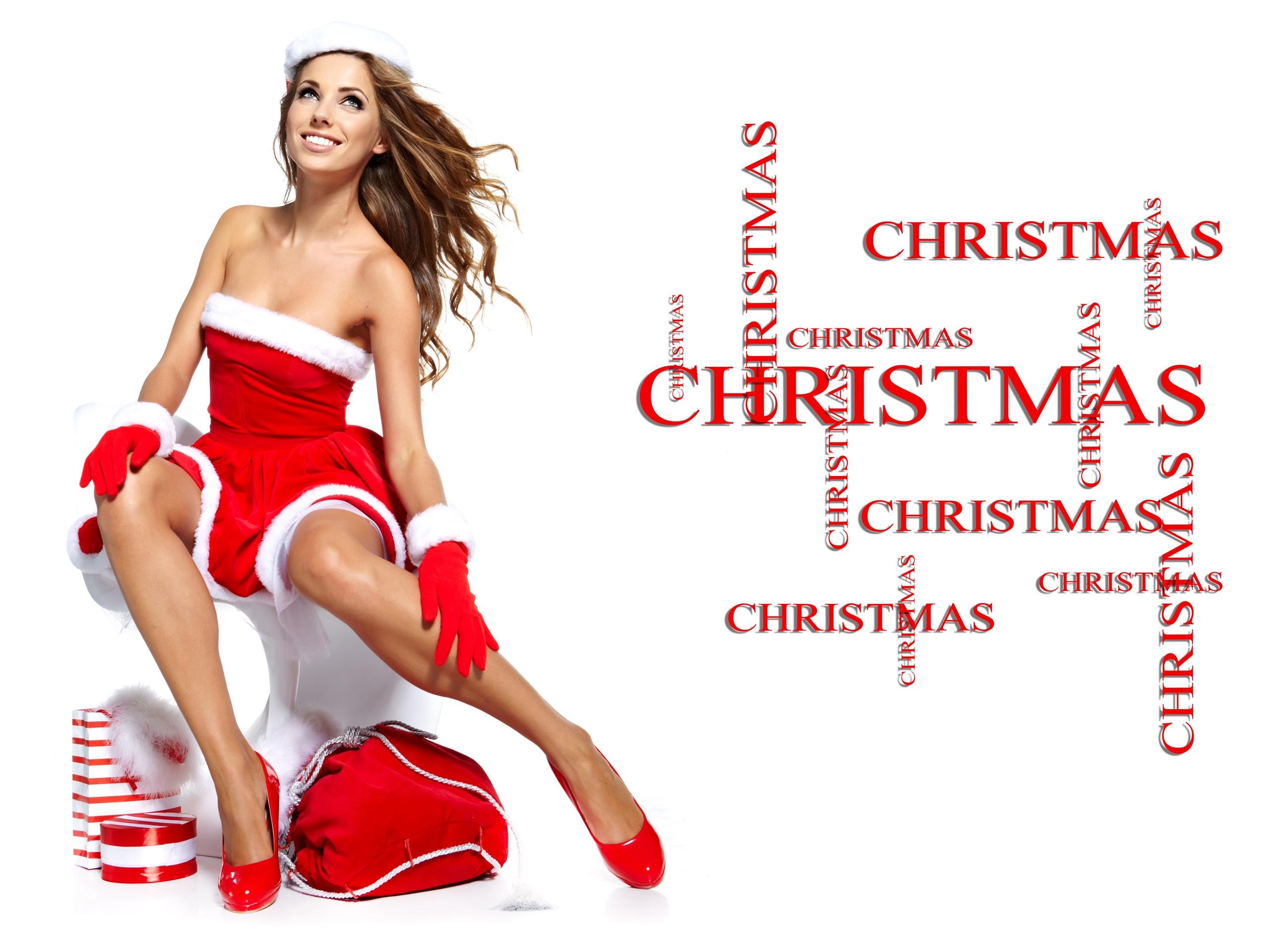 Christmas dress for girl - 2560x1920