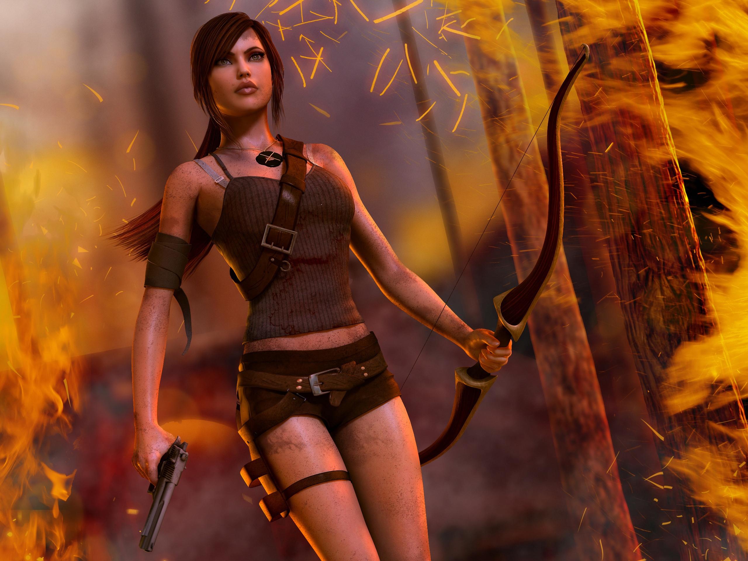 7680x4320 Lara Croft 8k Artwork 8k Hd 4k Wallpapers: 배경 화면 툼 레이더, 라라 크로프트, 아름다운 소녀 2560x1920 HD 그림, 이미지