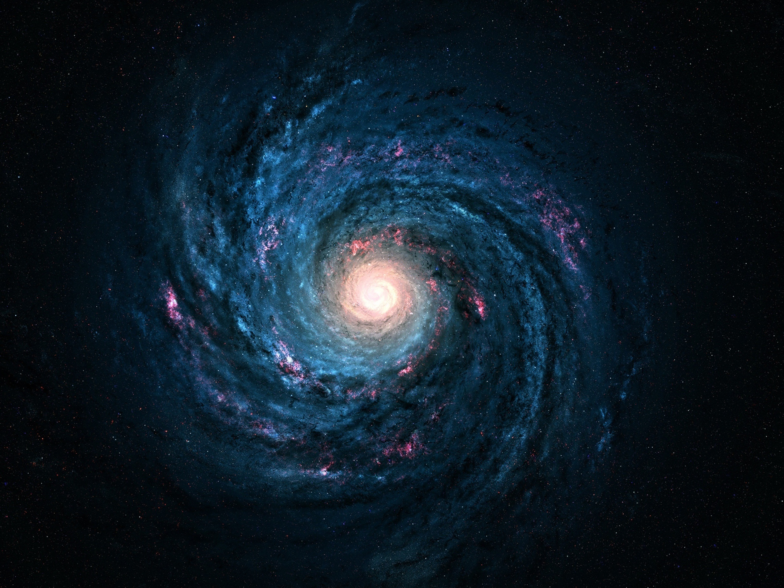 壁紙 天の川 銀河 星 永遠 美しい空間 2560x1920 Hd 無料の