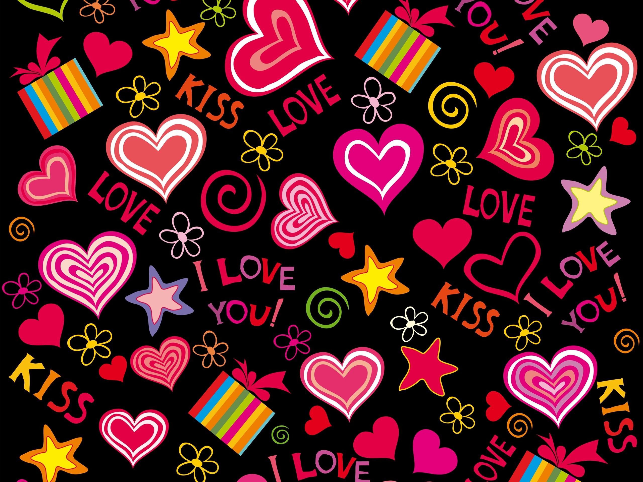 Fondos De Pantalla Animados De San Valentín: Fondos De Pantalla Amor Corazones, Vector, Romántico