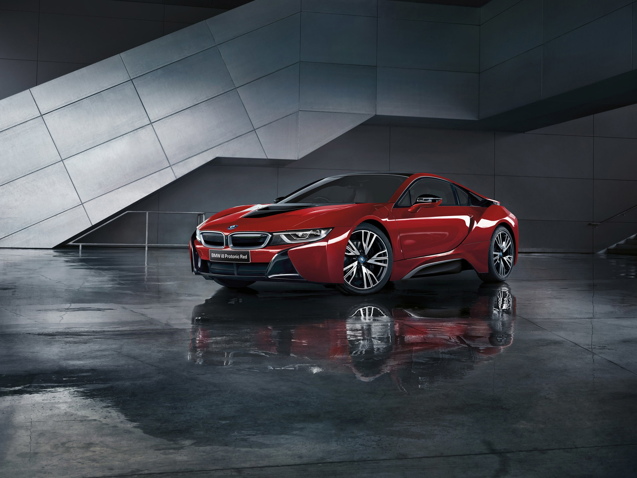 Wallpaper Bmw I8 Protonic Red Car 2560x1920 Hd Picture Image