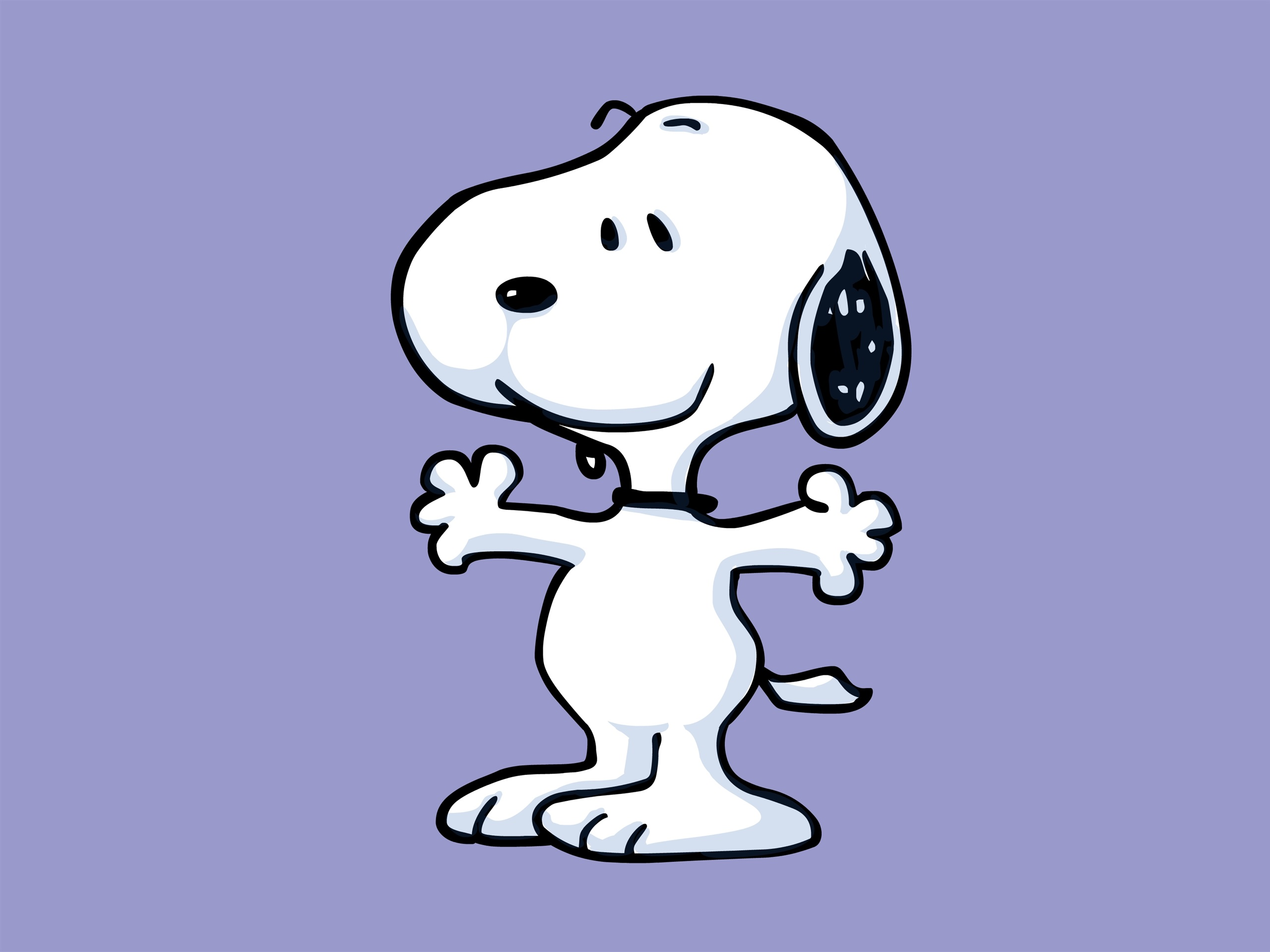 Wallpaper Snoopy Cartoon Star 2880x1800 Hd Picture Image
