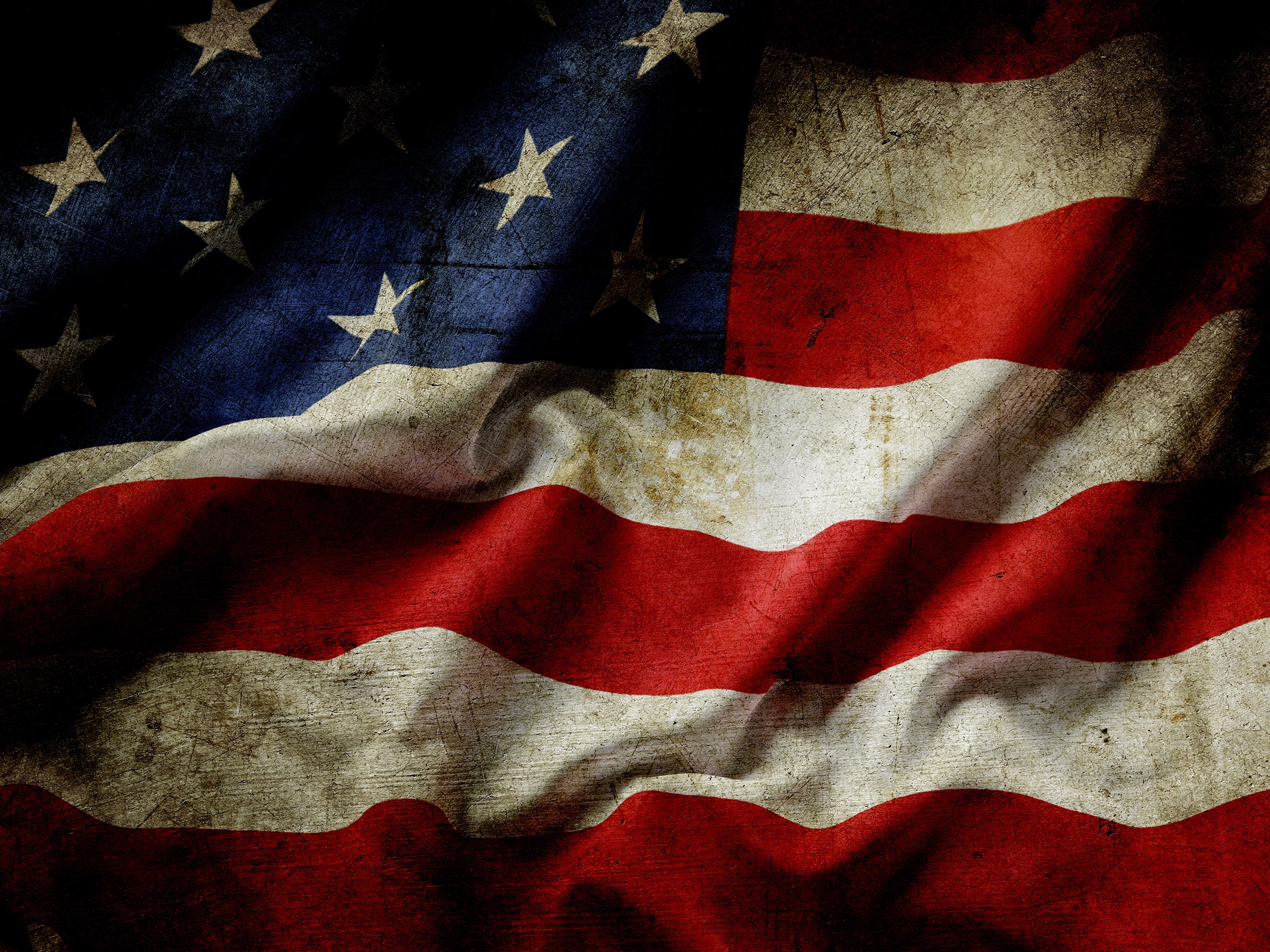 Wallpaper Usa Flag Dust 3840x2160 Uhd 4k Picture Image