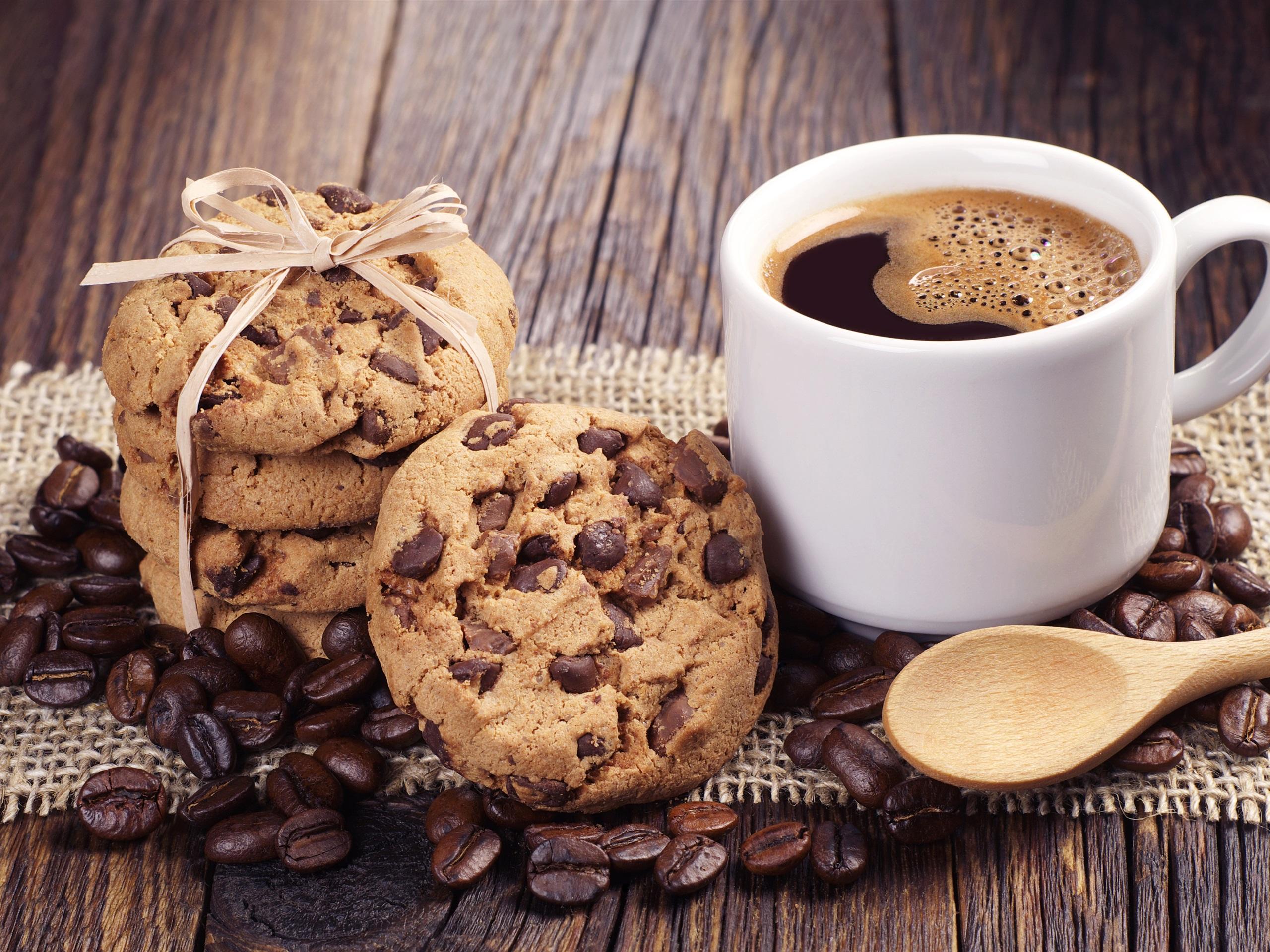 картинки кофе в кружке и печеньки уже