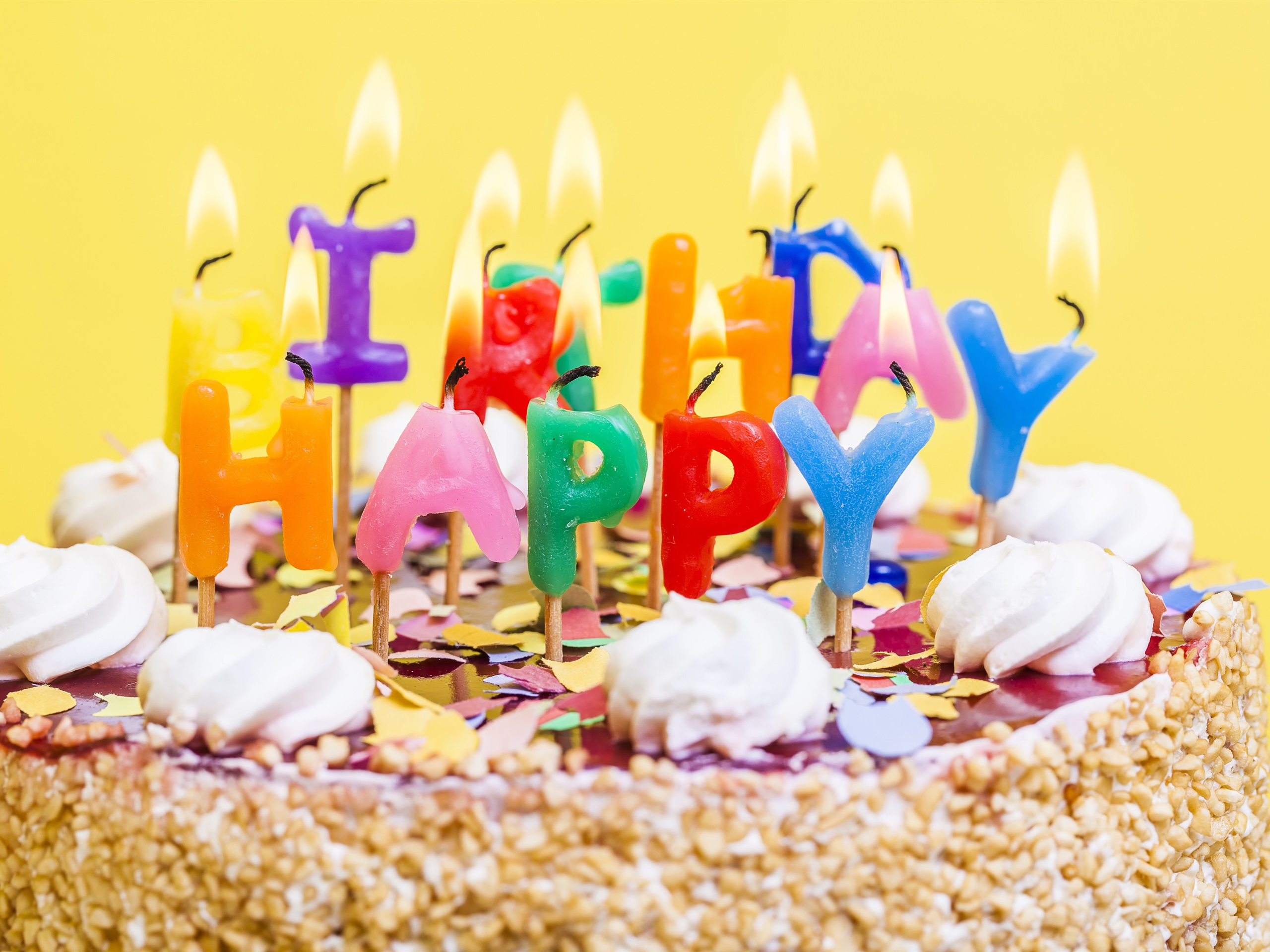 Открытки с днем рождения торт свечи, картинки прикольные поздравления