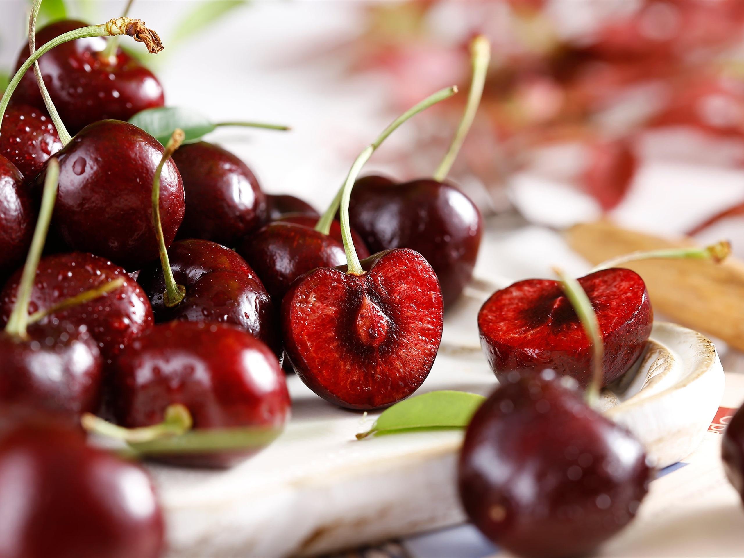 Delicious cherry