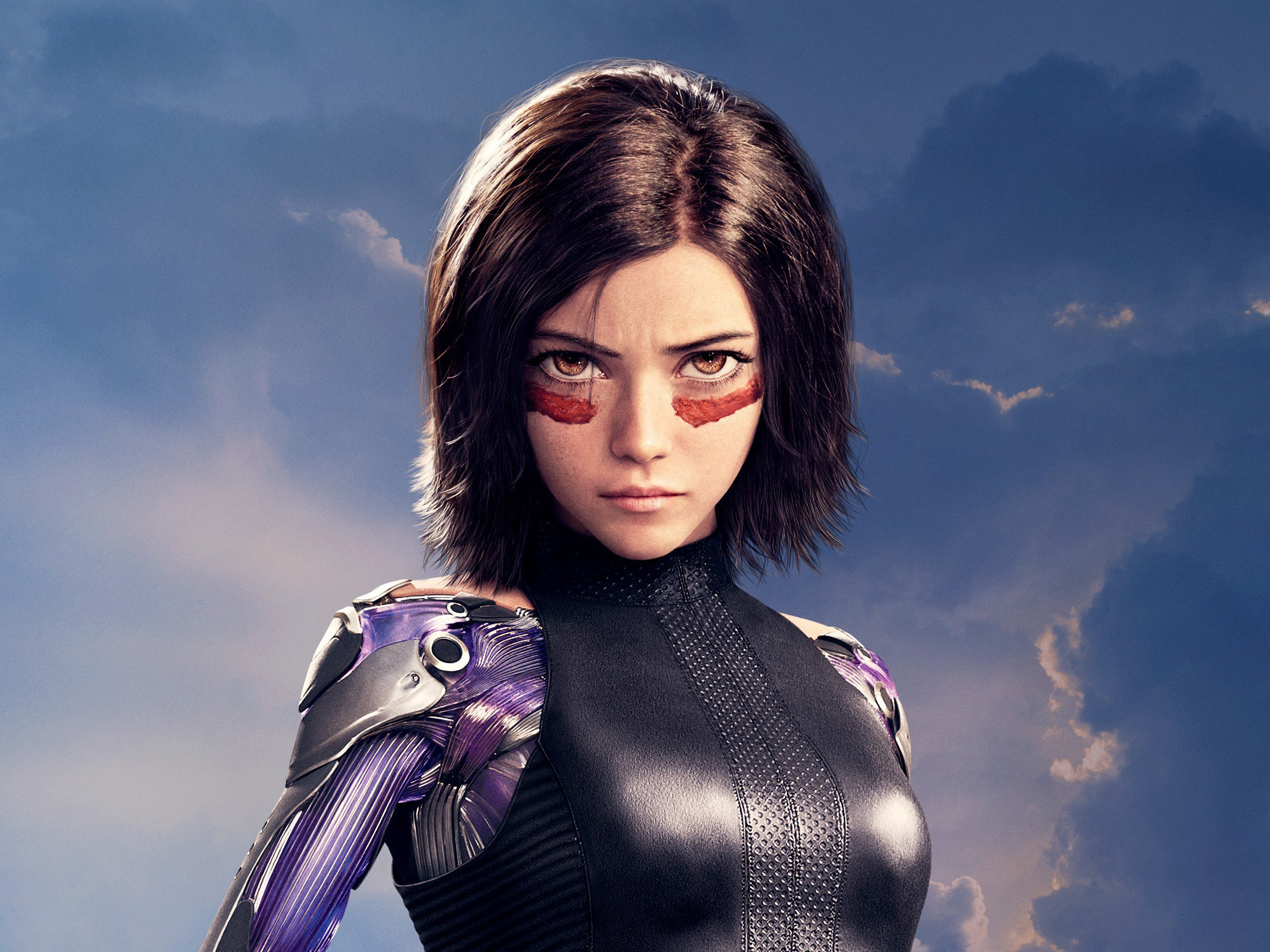 Wallpaper Rosa Salazar Alita Battle Angel 2560x1920 Hd Picture