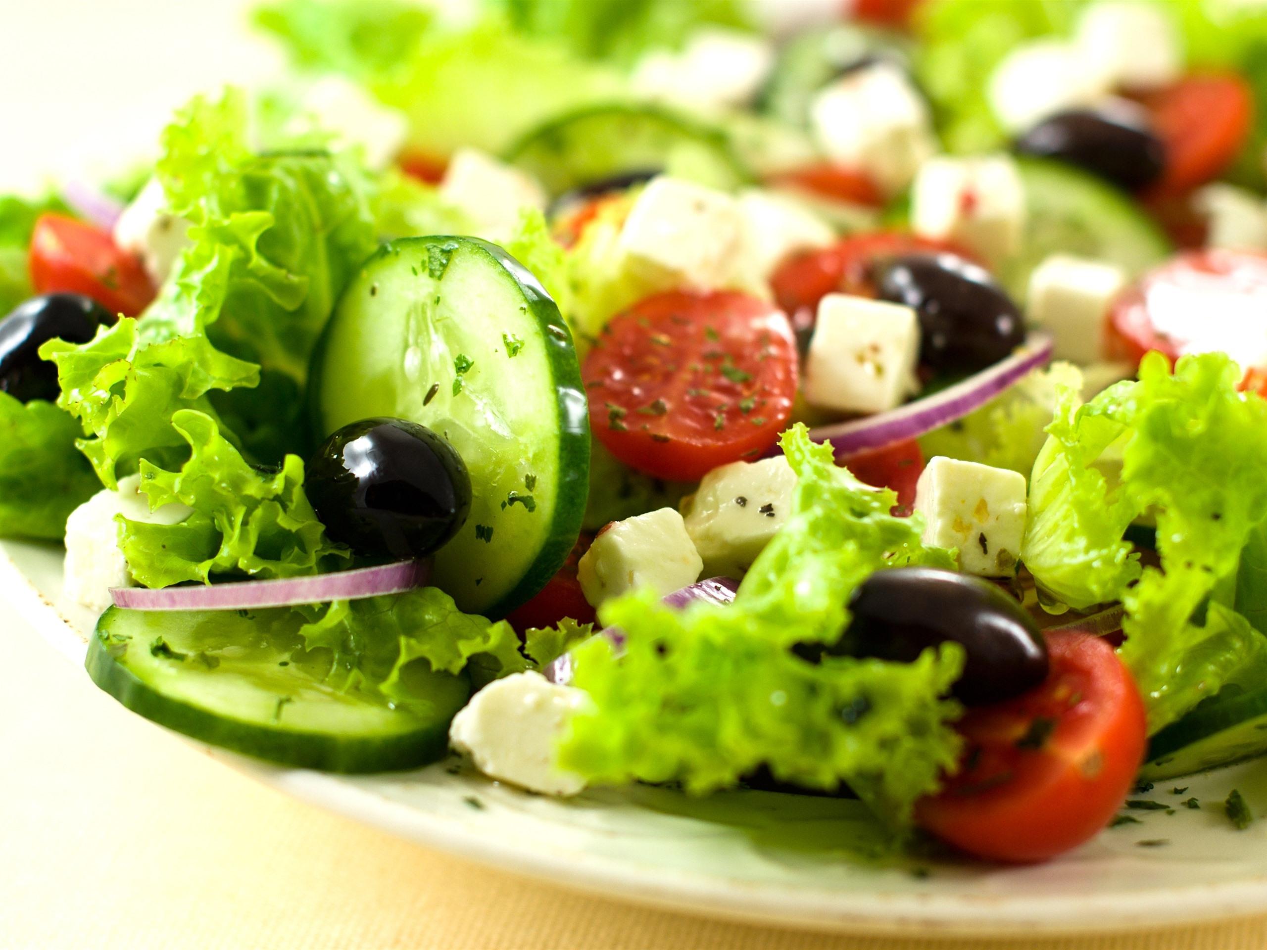 Картинка овощ салат
