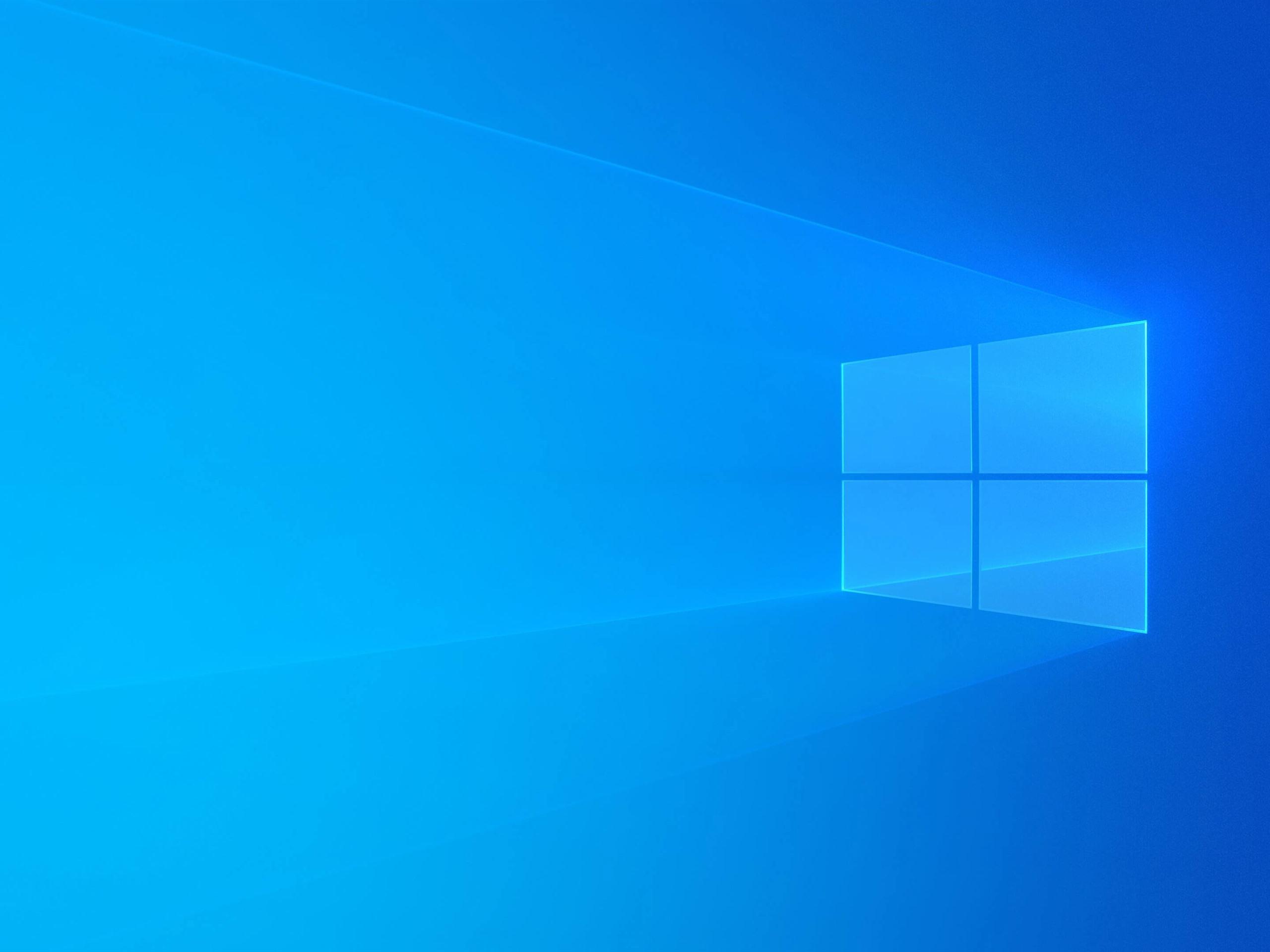 壁紙 Windows 10 青色の背景 光 抽象的なデザイン 3840x2160 Uhd 4k