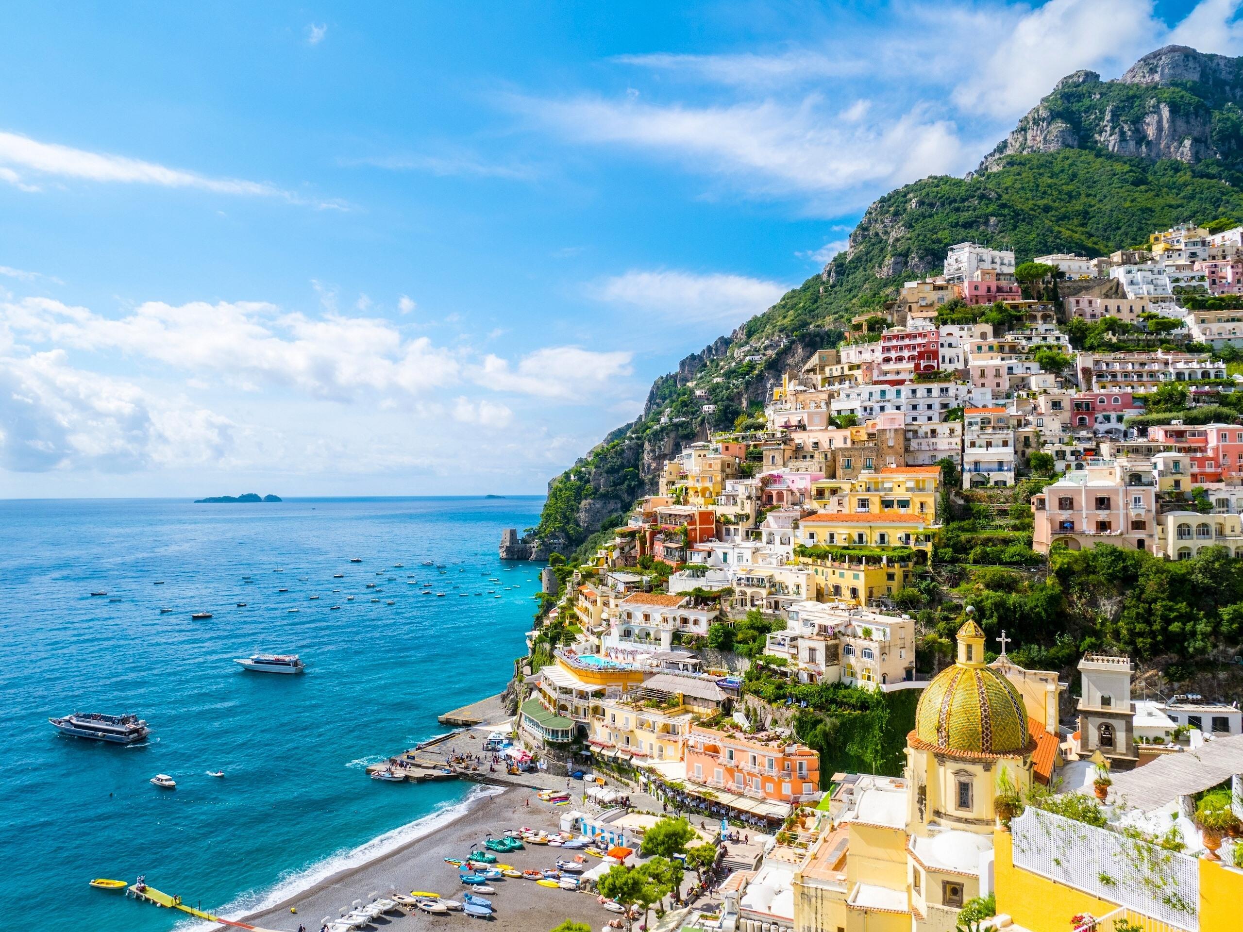 италия картинки море там