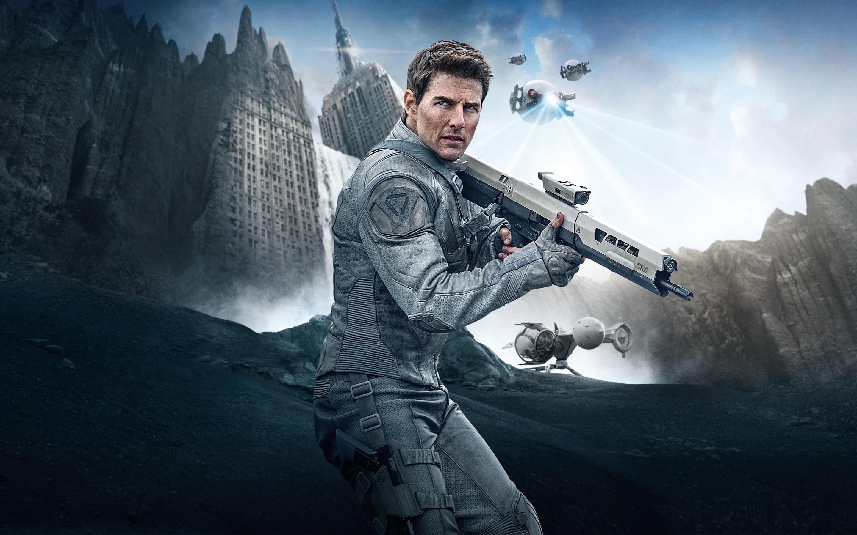 Wallpaper Tom Cruise, Oblivion