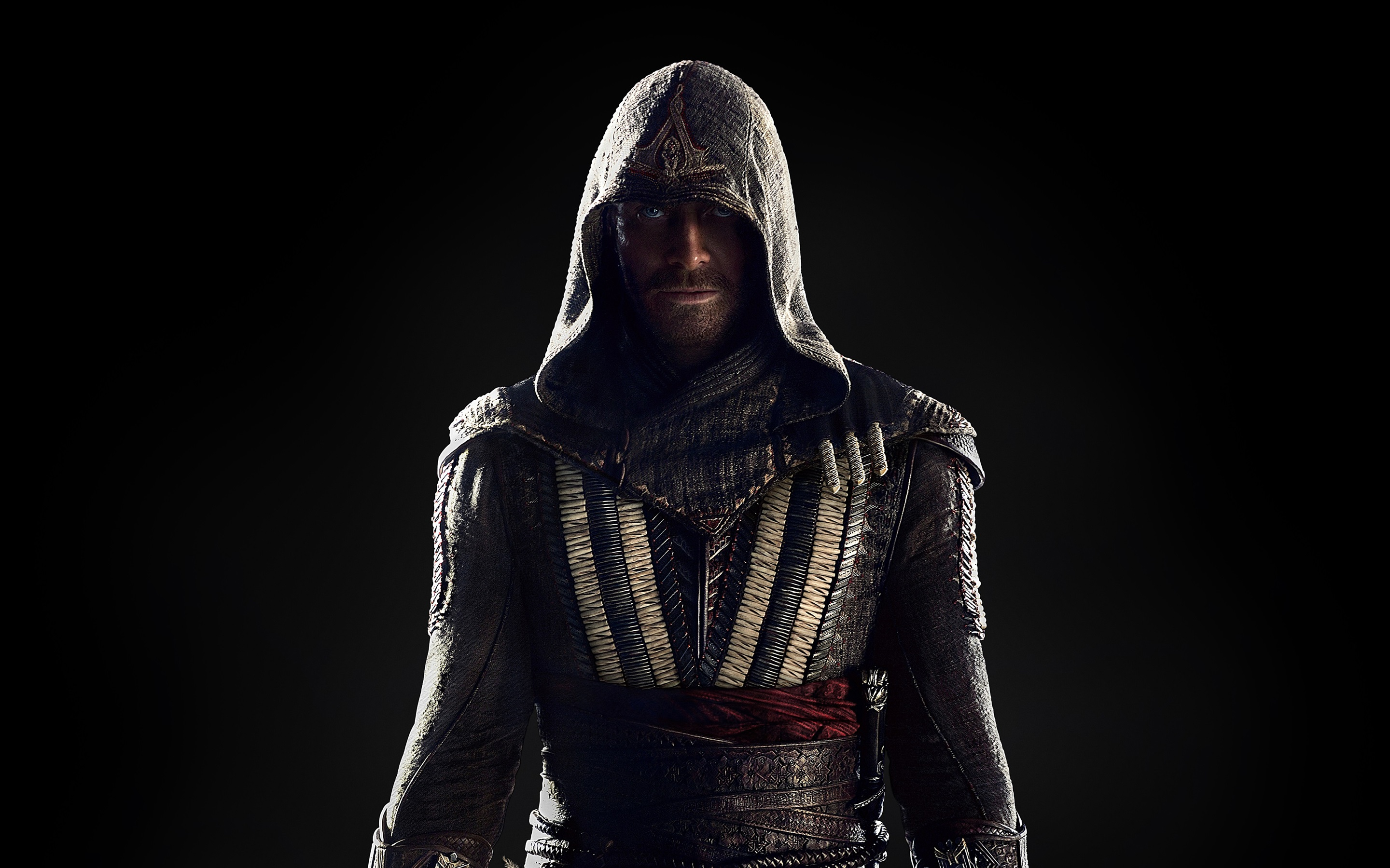 2880x1800 HD Wallpaper Michael Fassbender, Assassin's Creed 2016 movie