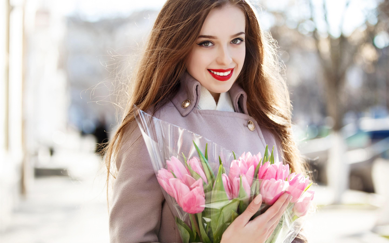 Девушка с тюльпанами картинки, смешные поговорки